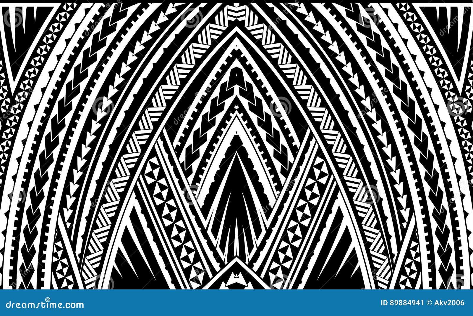 Samoa Tribal Ornament Stock Vector Illustration Of Design 89884941