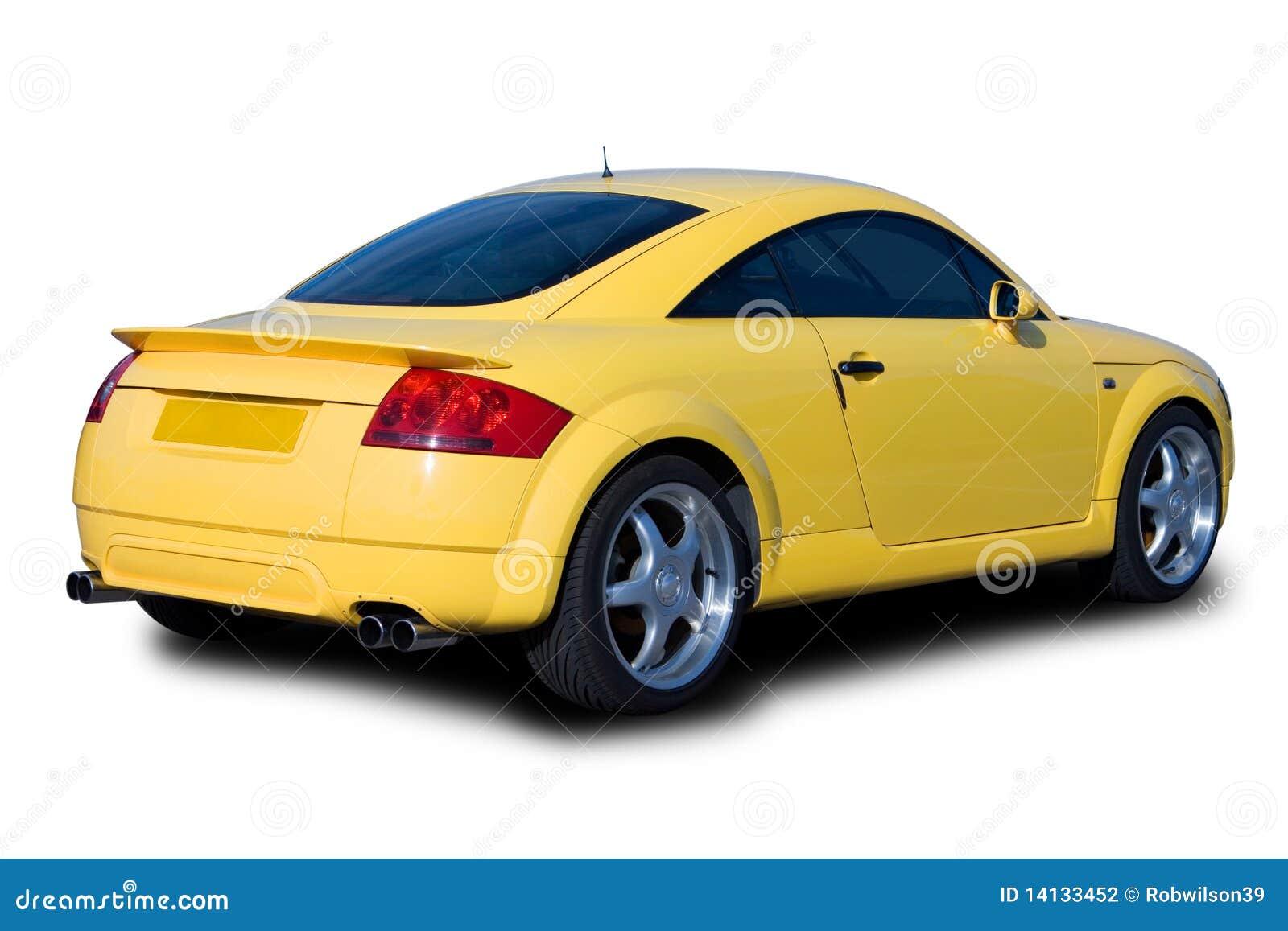 Samochód bawi się kolor żółty