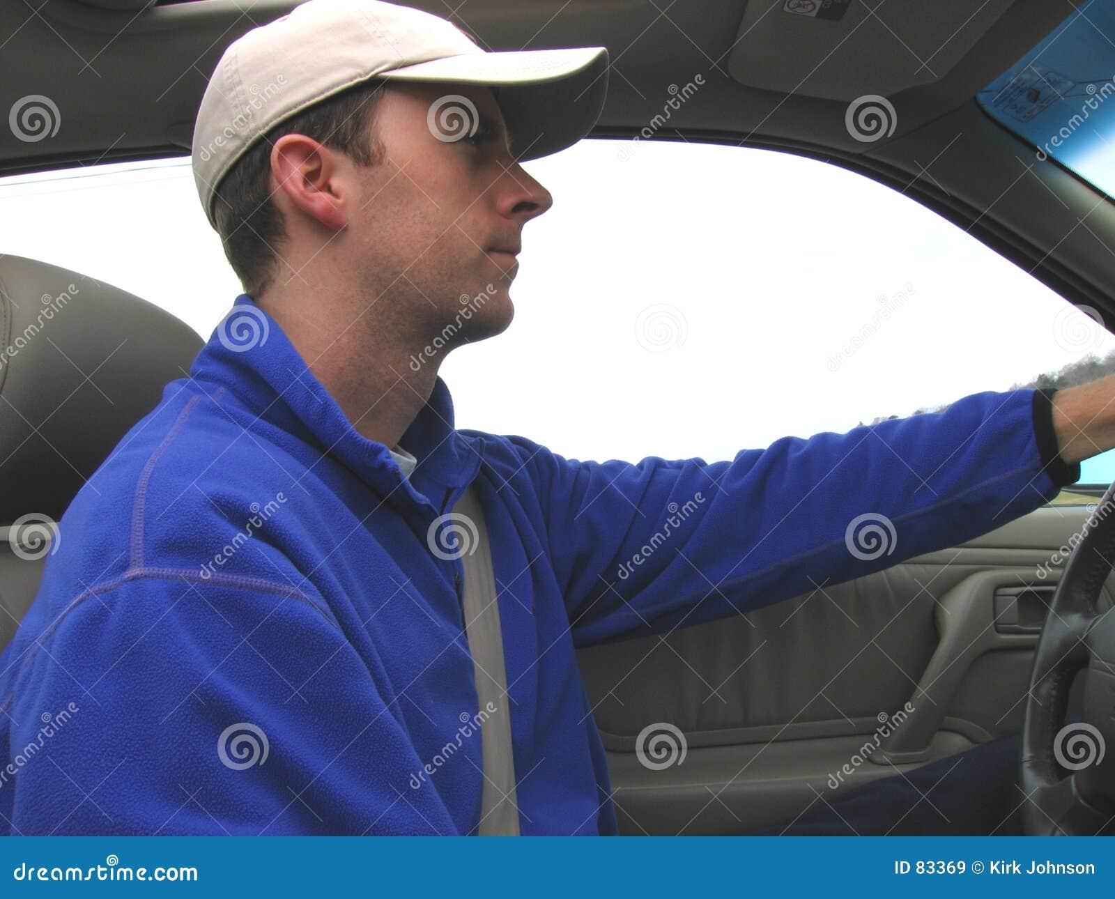 Samochód człowieku jazdy