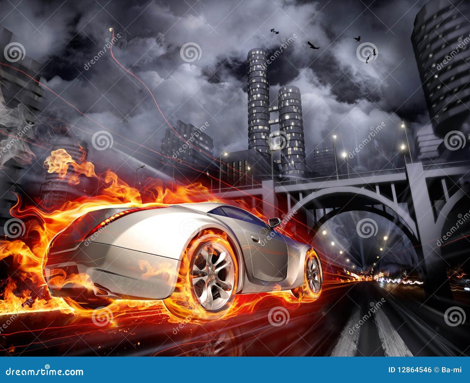 Samochód gorący