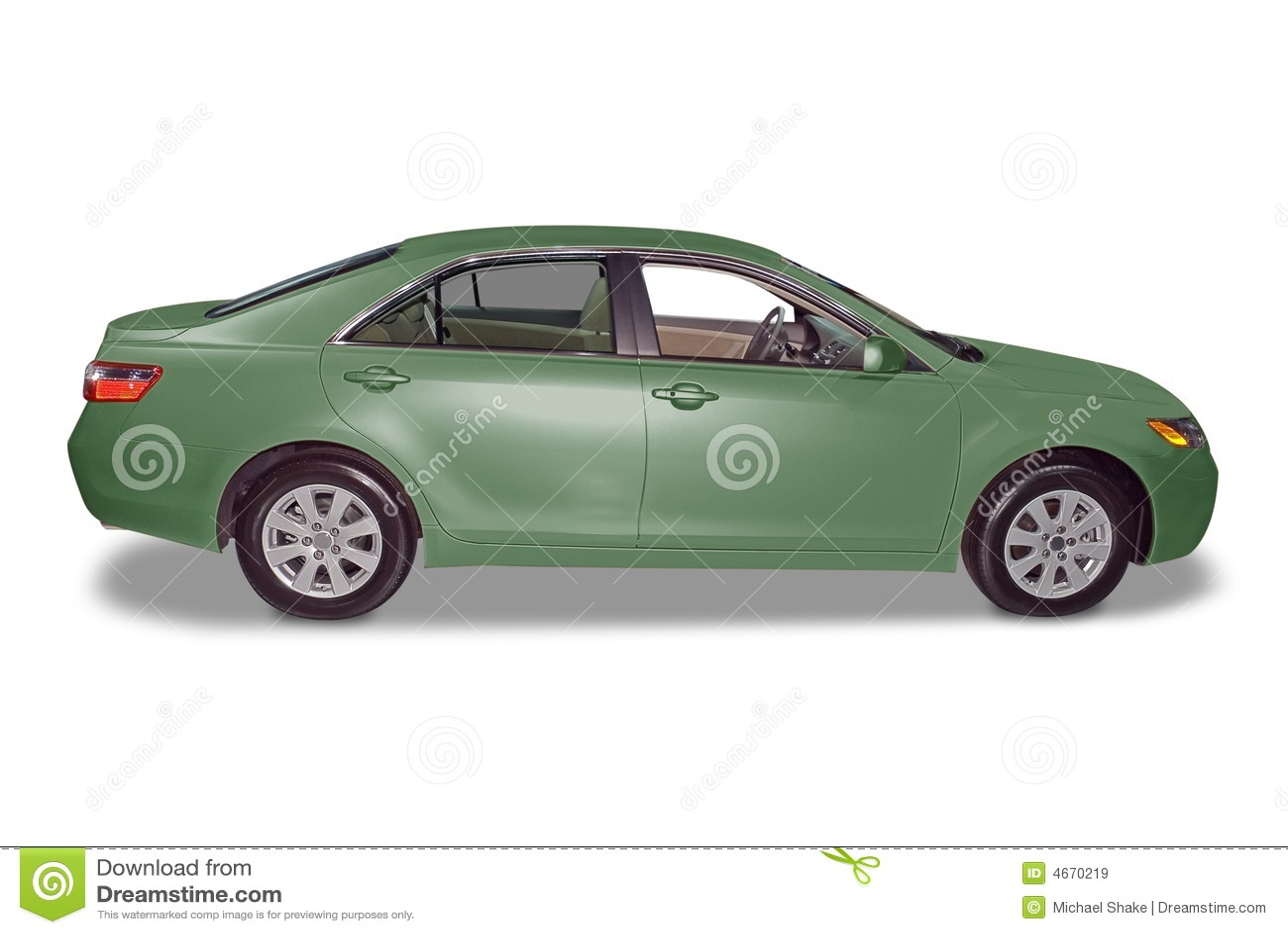 Samochód hybrydowy nowy.