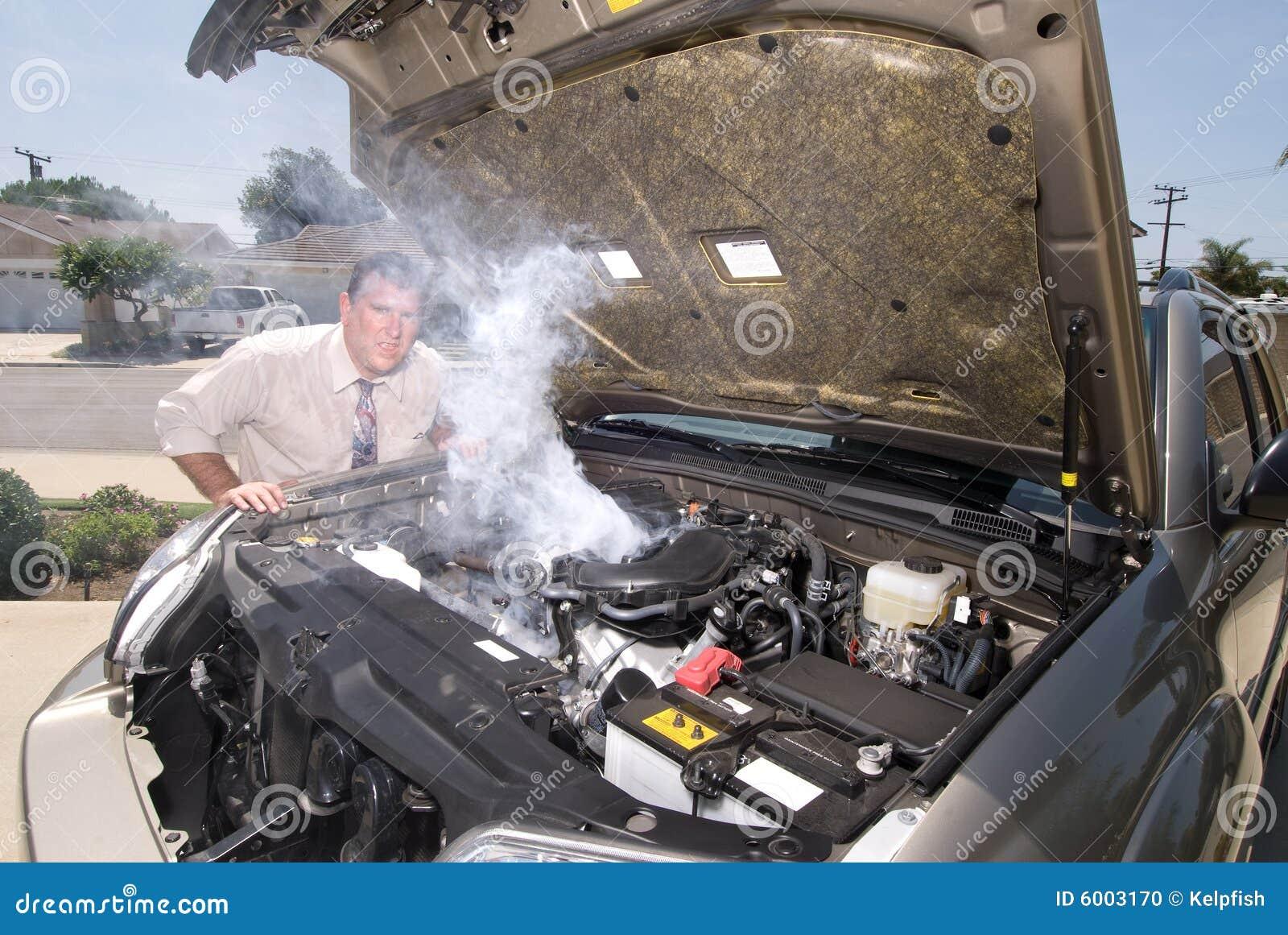 Samochód jego ludzie ogrzewał