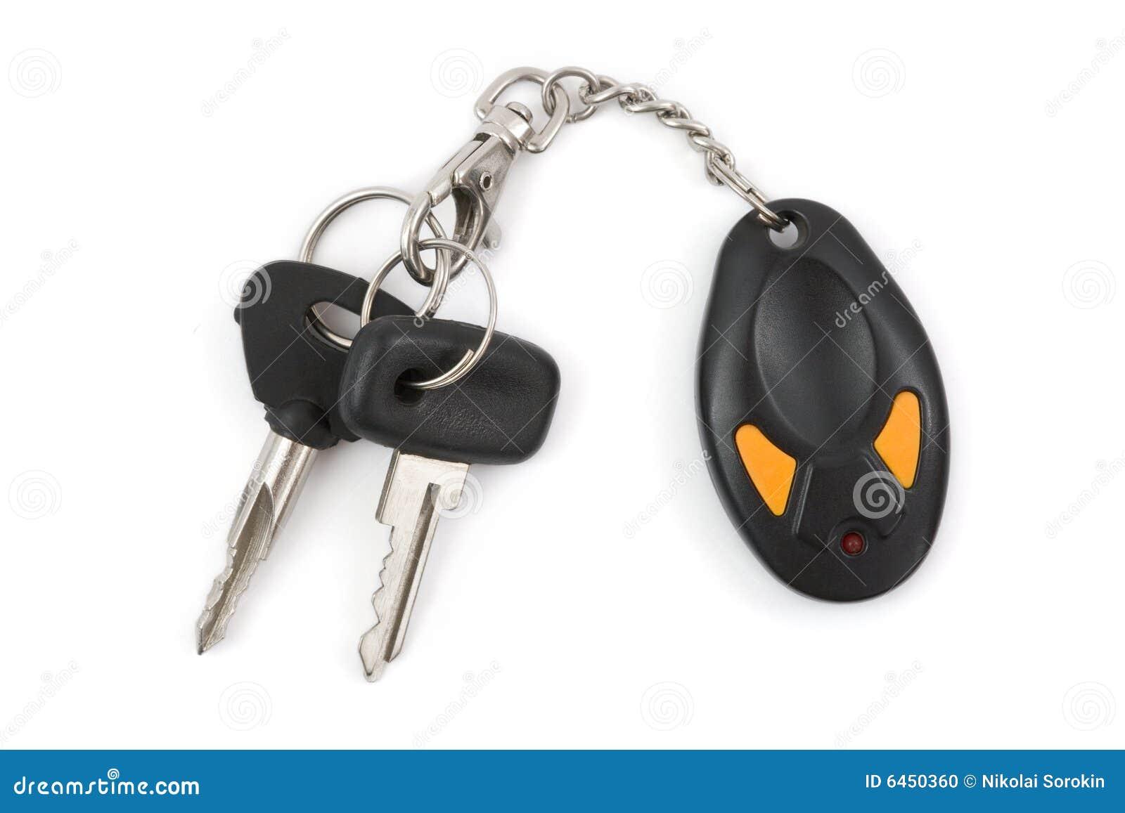 Samochód klucze kontroli daleko