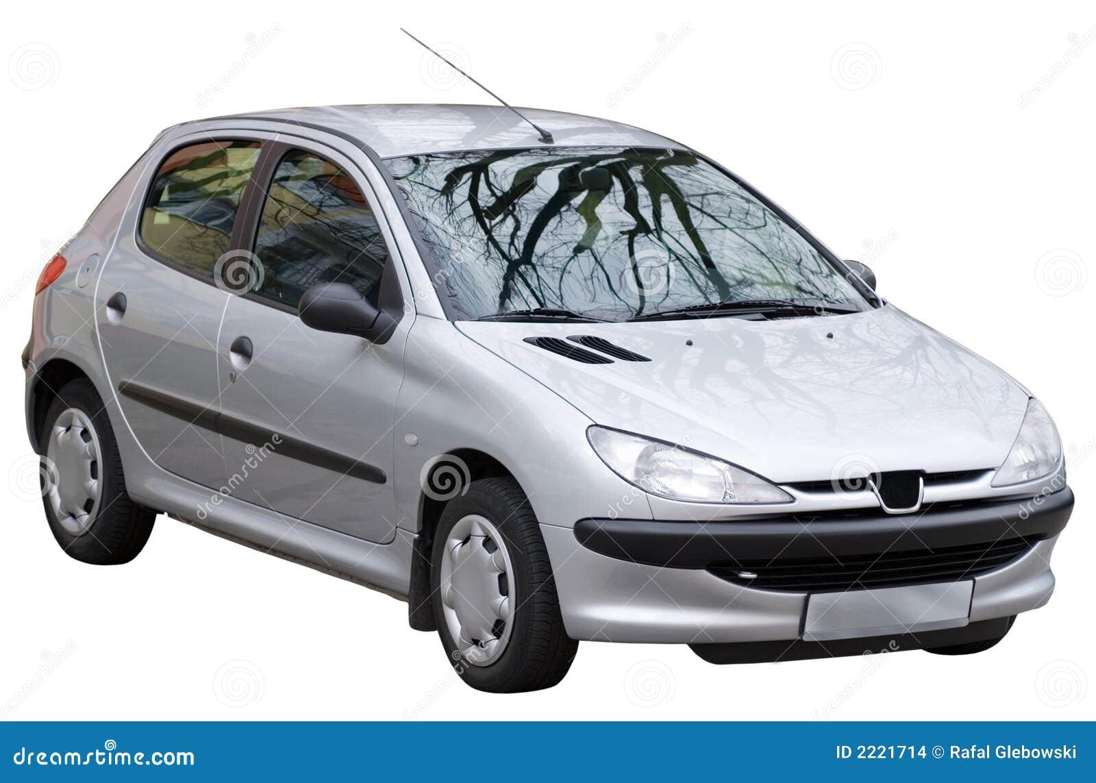 Samochód odizolowane
