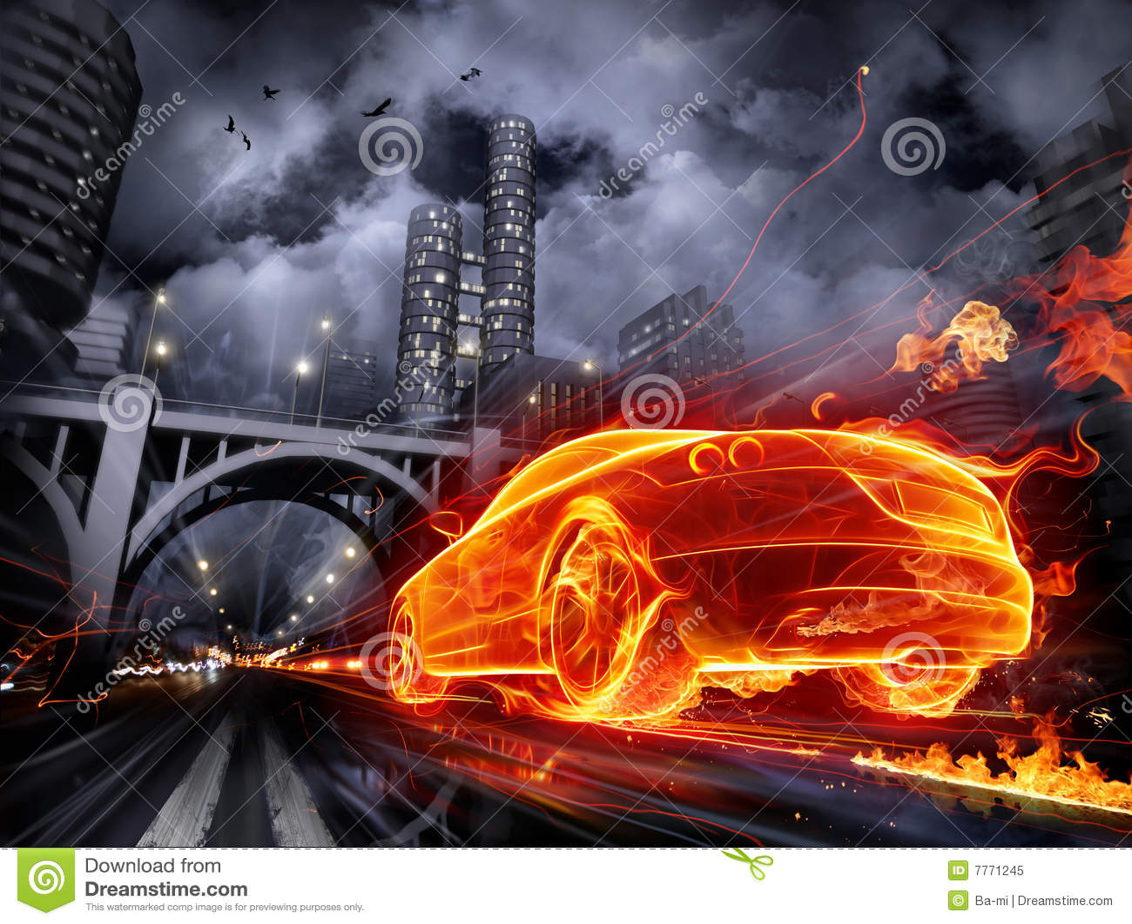 Samochód ognisty