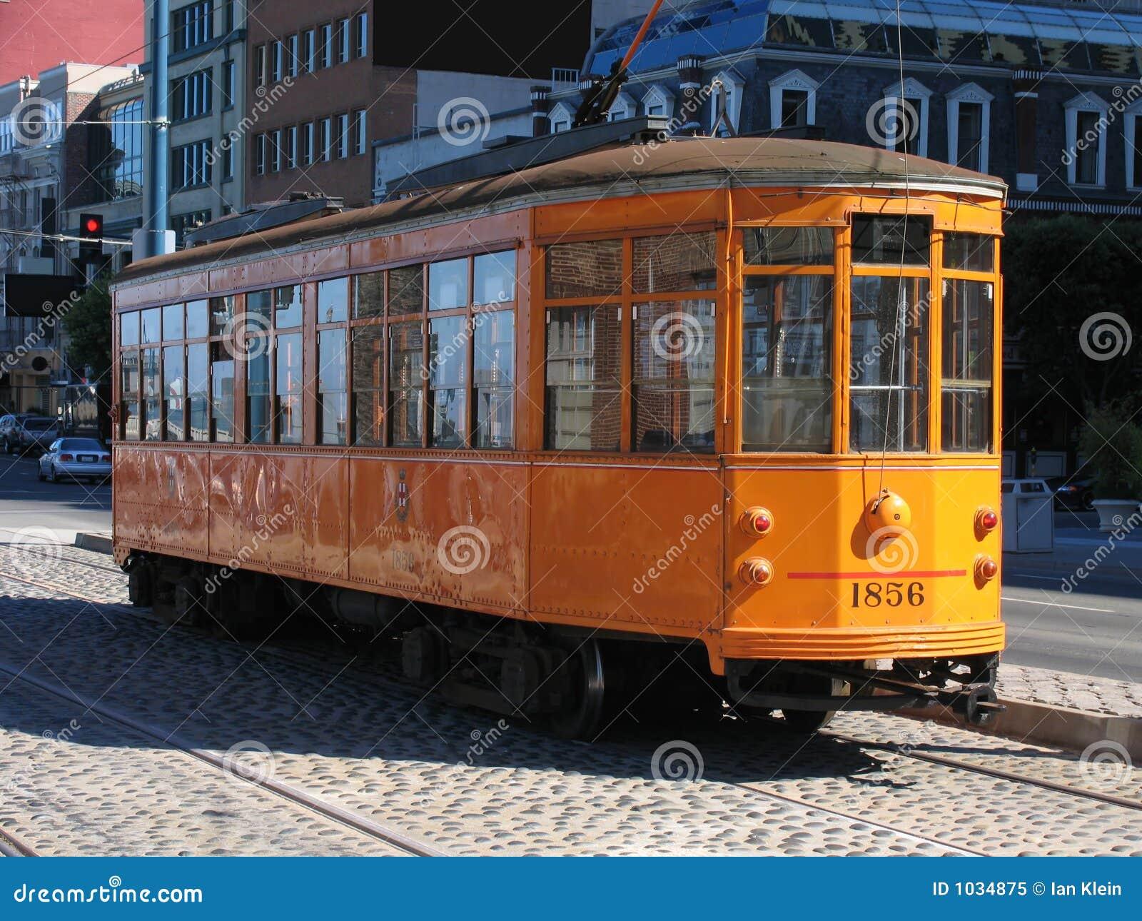 Samochód San Francisco brukowców przejazd street