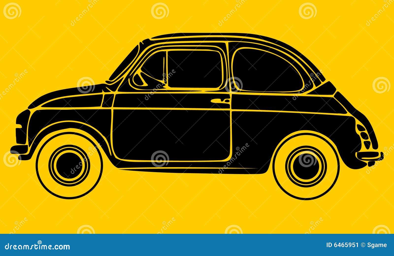 Samochód silhouete