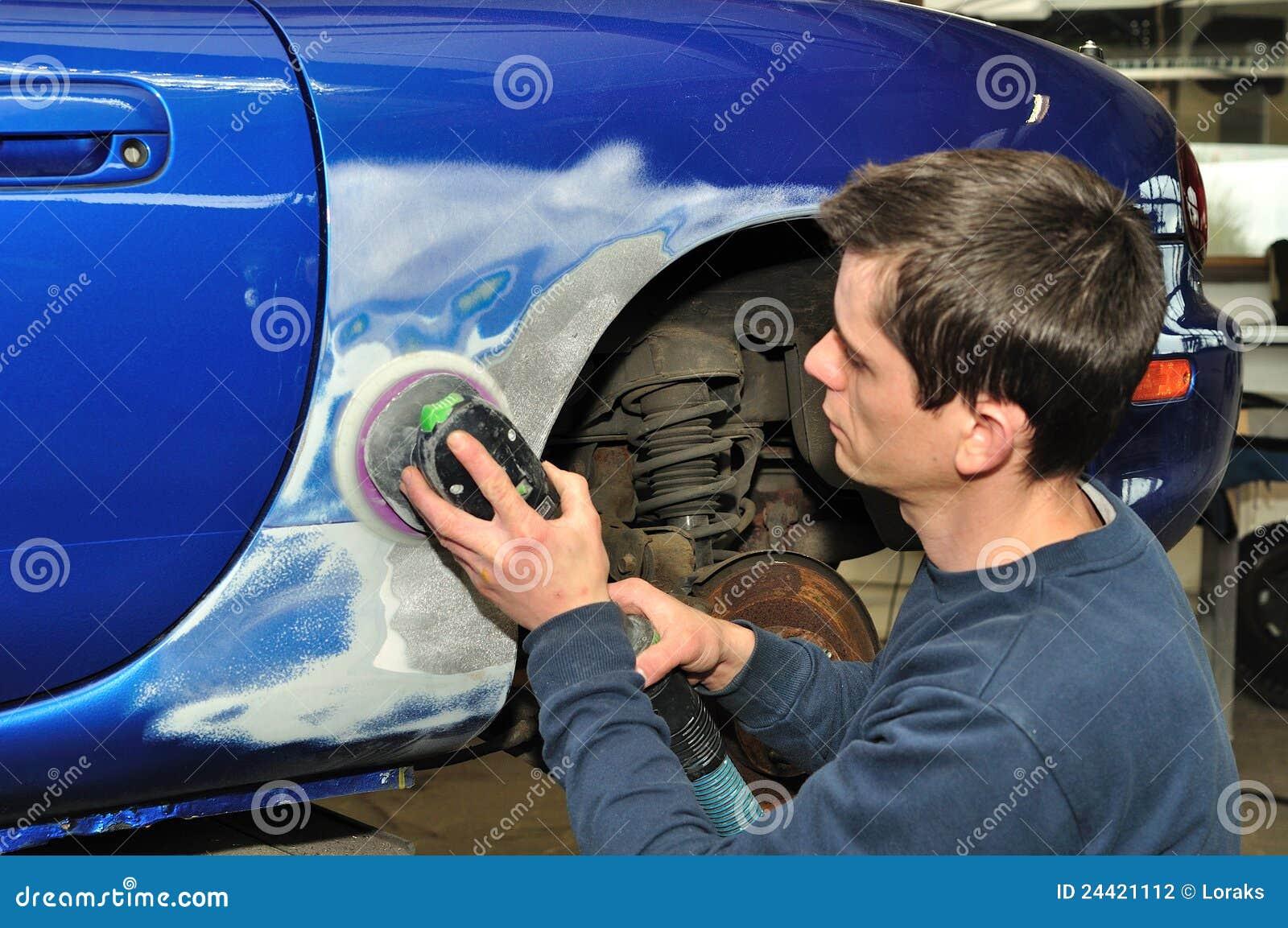 Samochodowa ciało praca