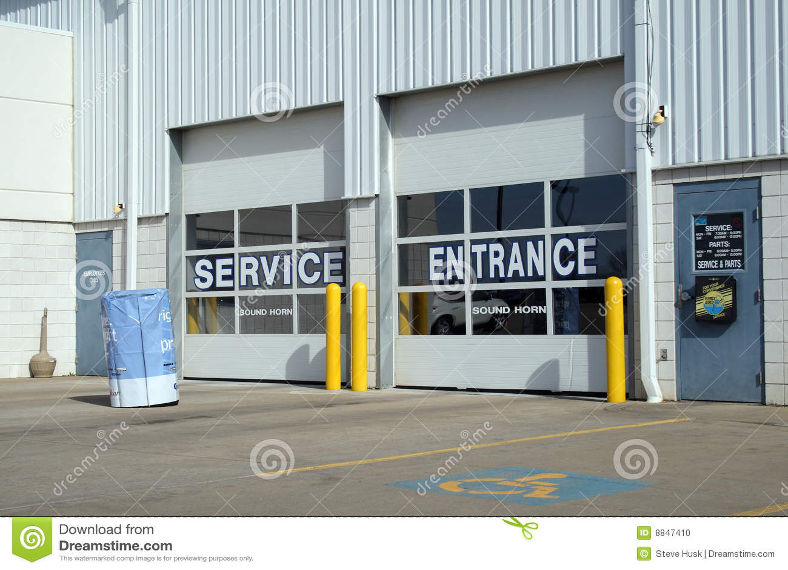 Samochodowa remontowa usługa