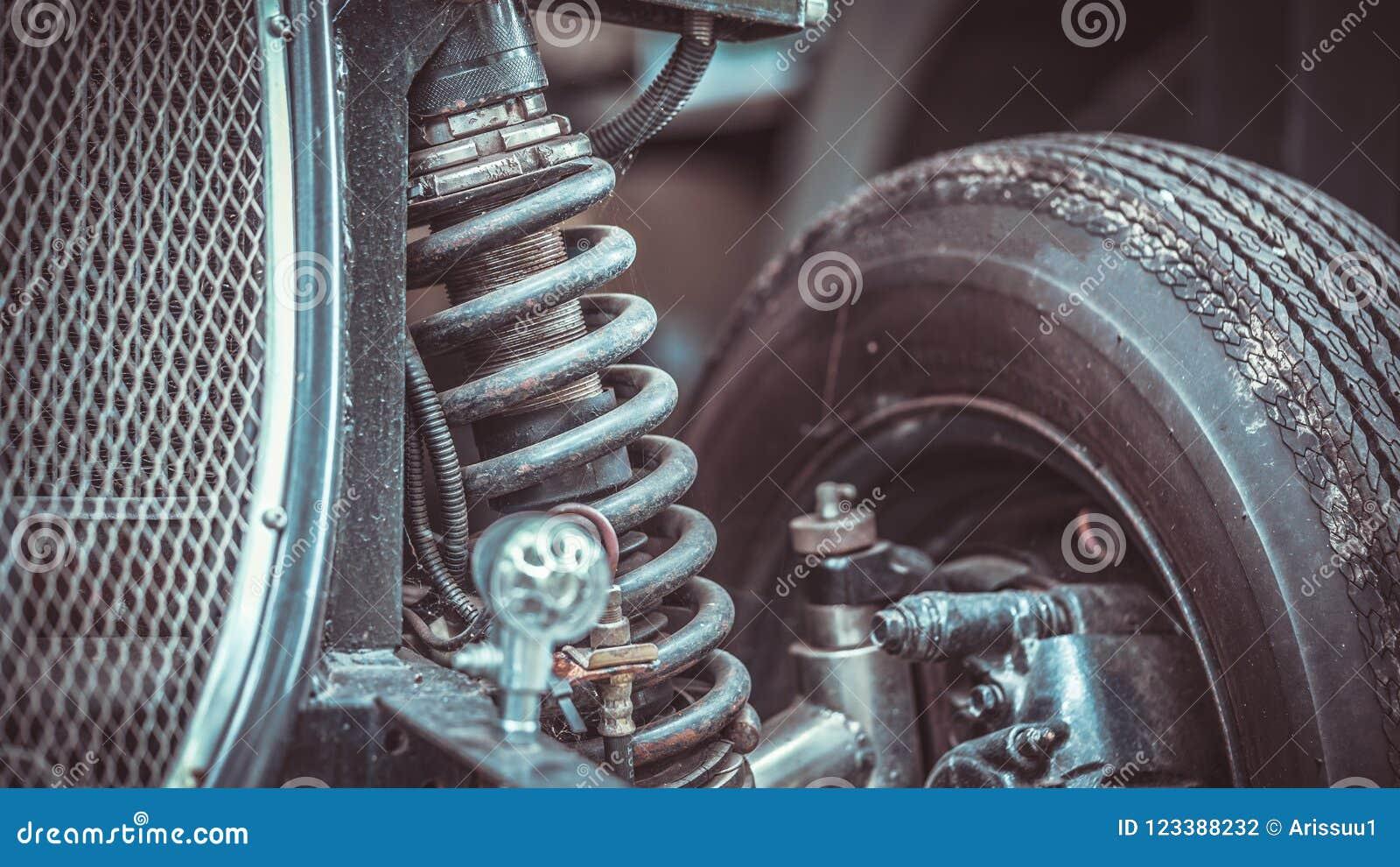 Samochodowa szoka absorberu Parowozowa część