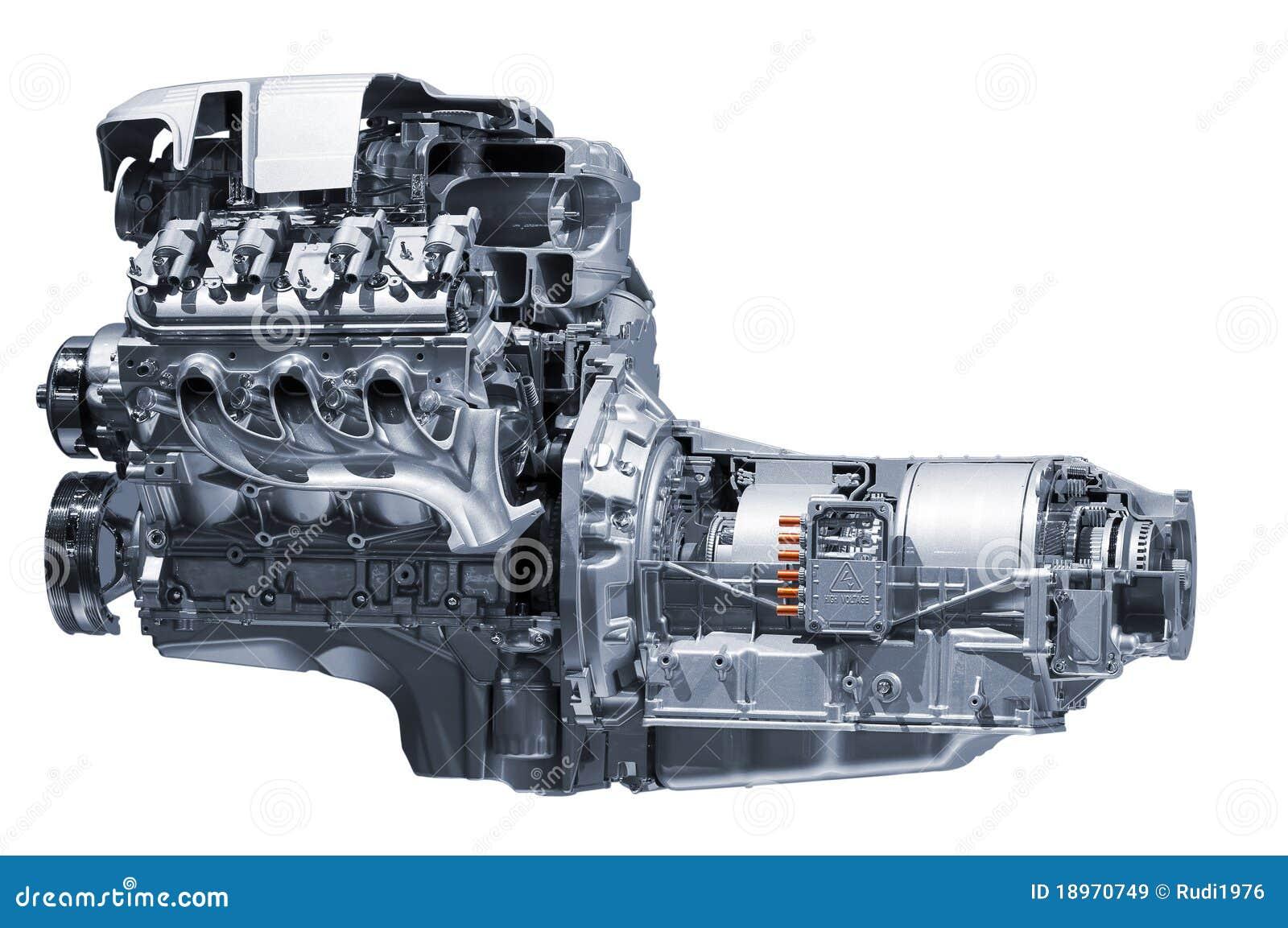 Samochodowego silnika hybryd