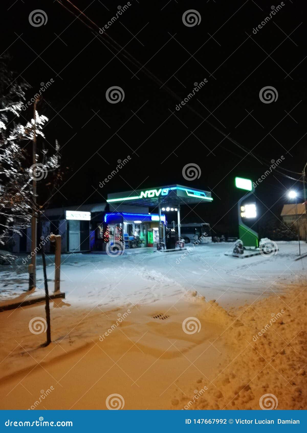 Samochodowej karmy benzynowa stacja tw?j