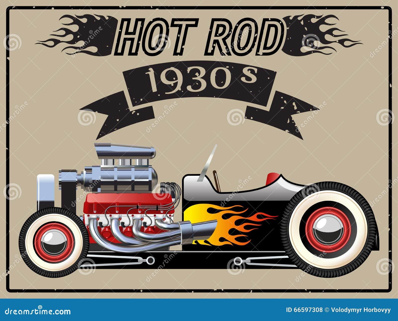 Samochodowy gorący prącie