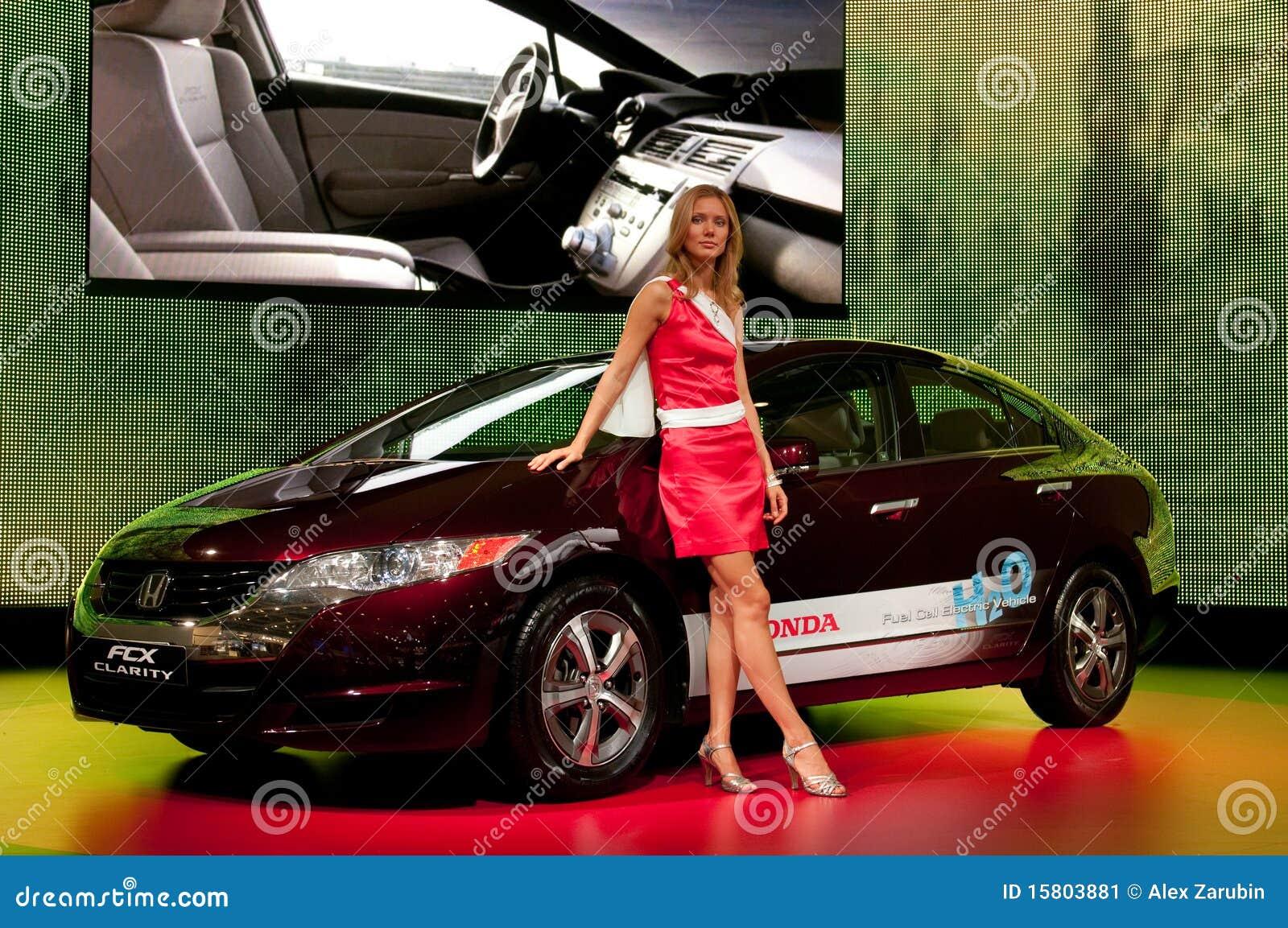 Samochodowy klarowności pojęcia fcx Honda