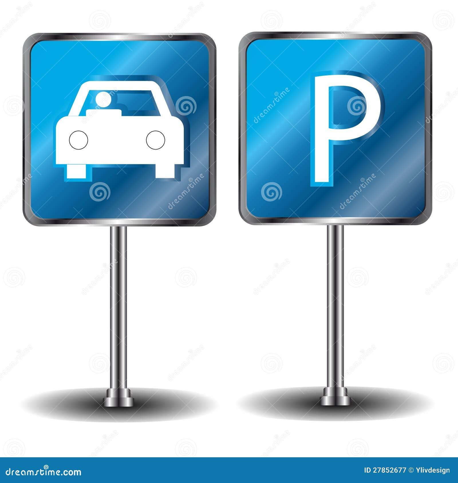 Samochodowy parking