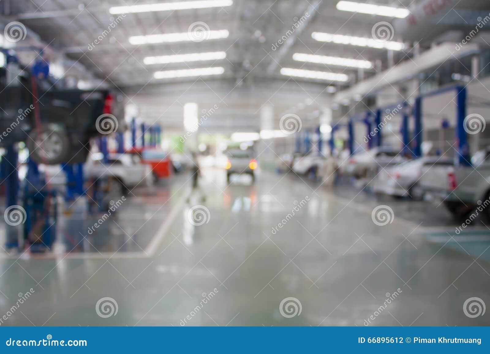 Samochodowy remontowy usługowy centrum
