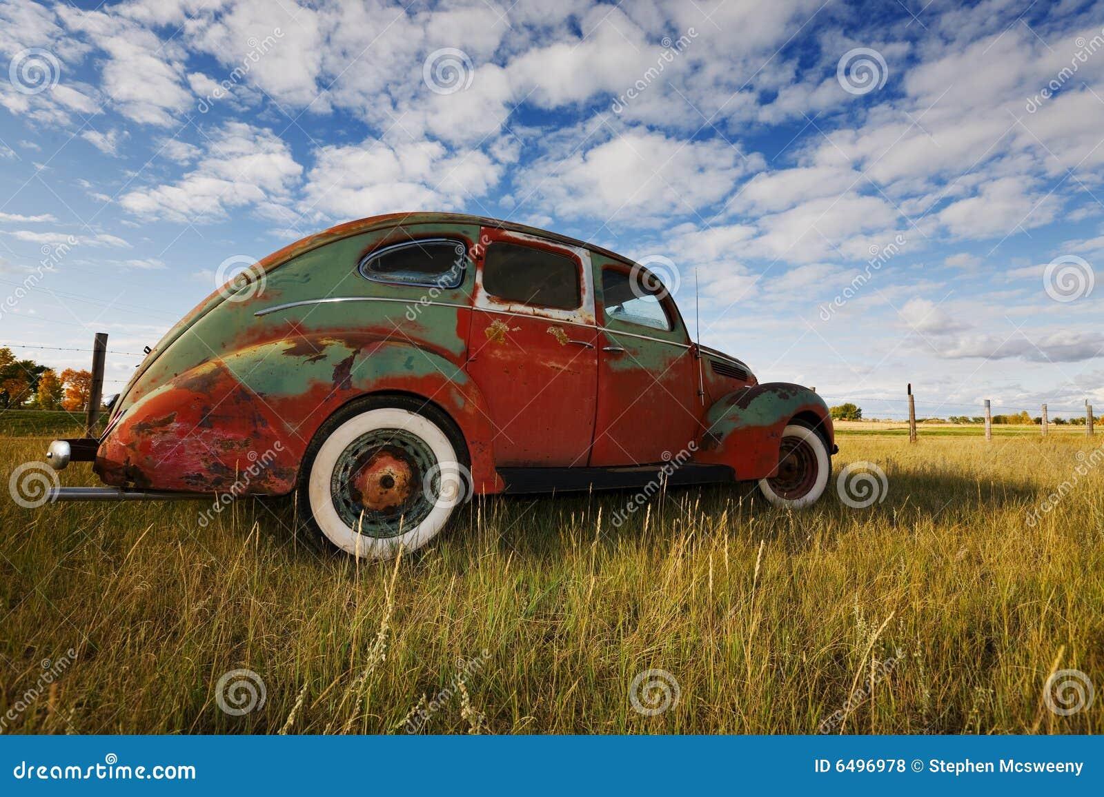 Samochodowy stary rocznik