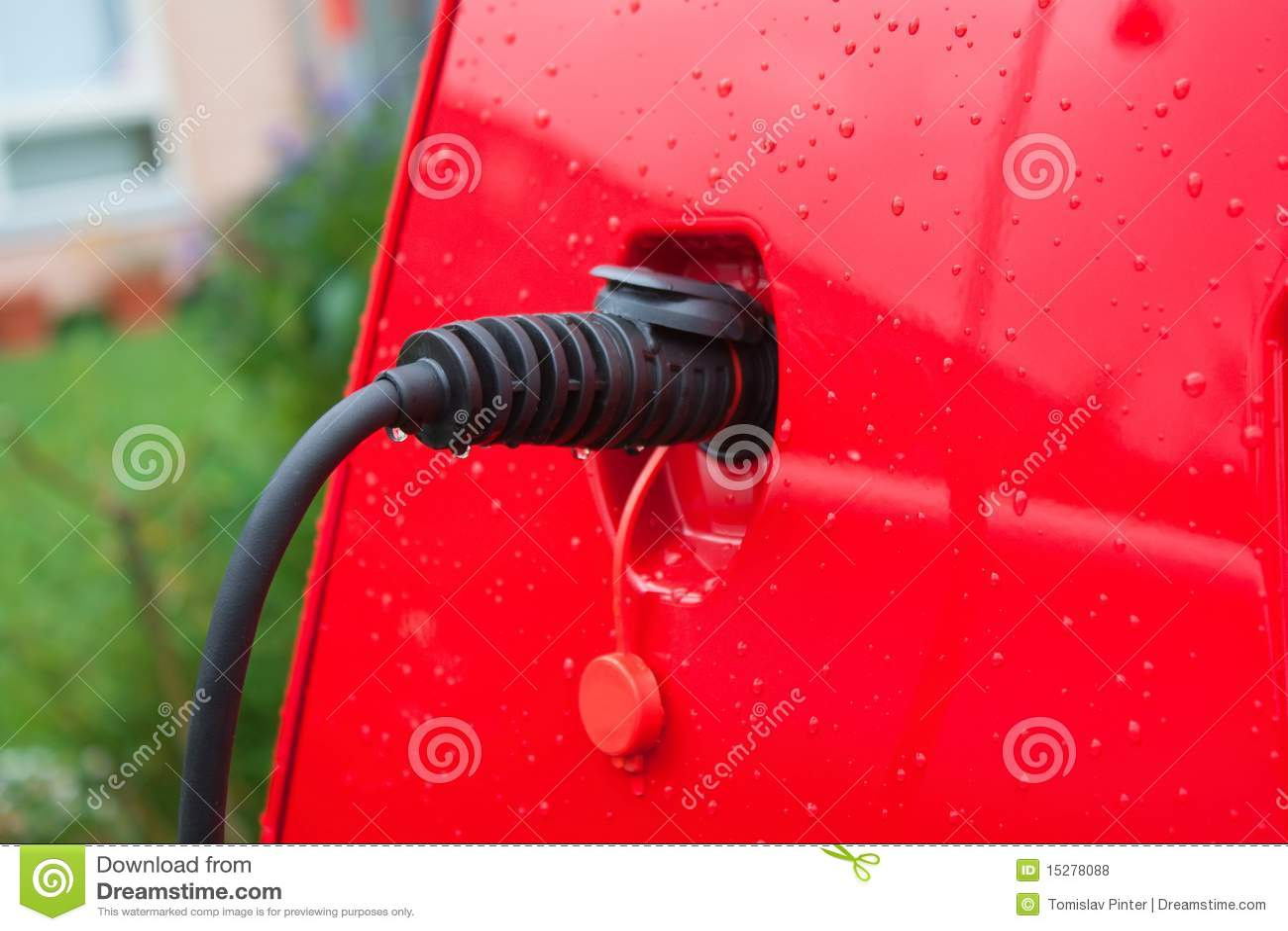 Samochodu ładować elektryczny