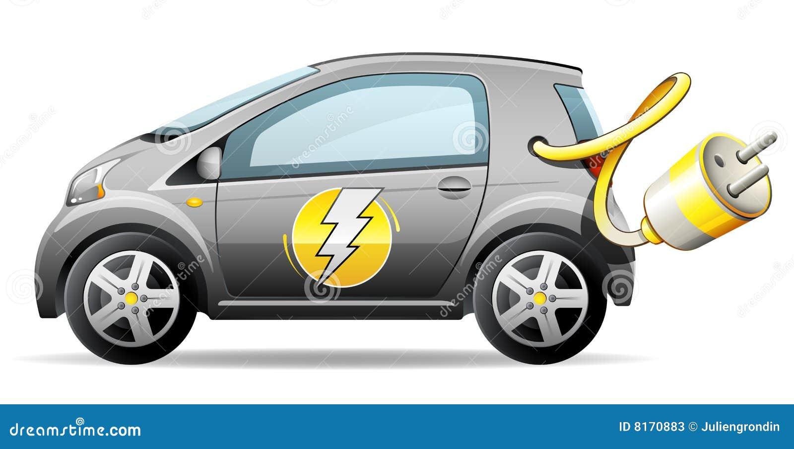 Samochodu elektryczny ścisły