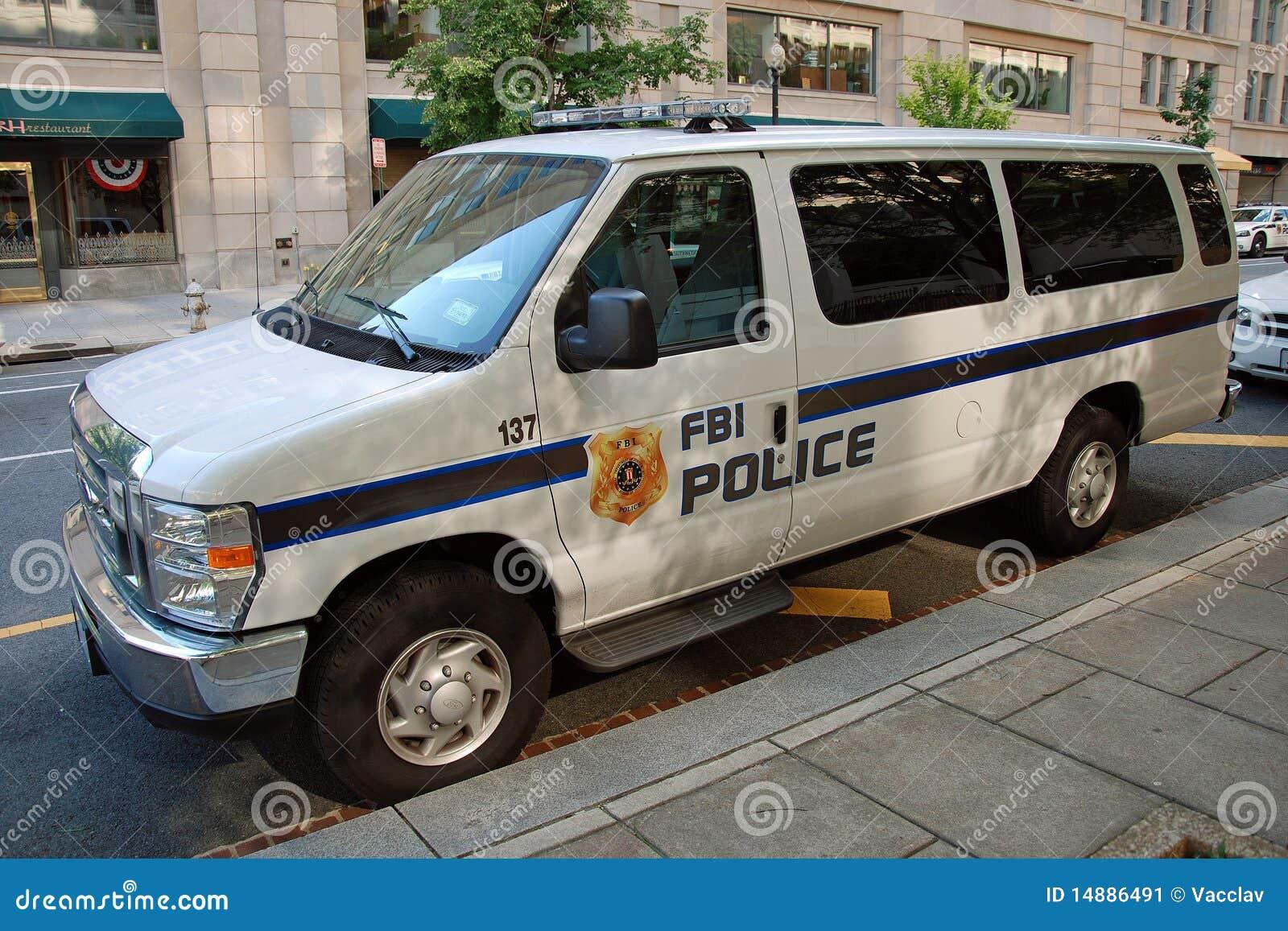 Samochodu fbi policja