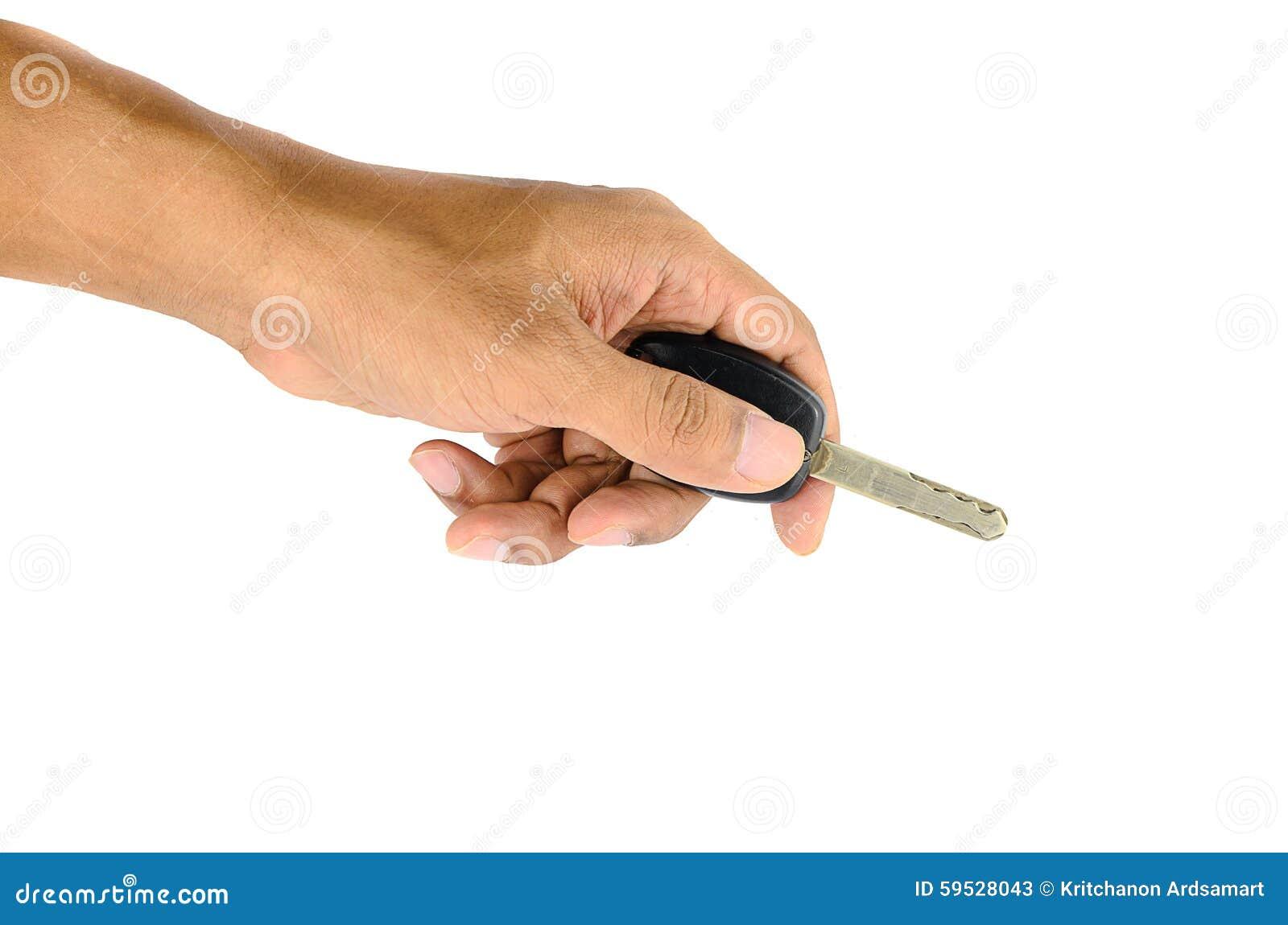 Samochodu klucz w ręce