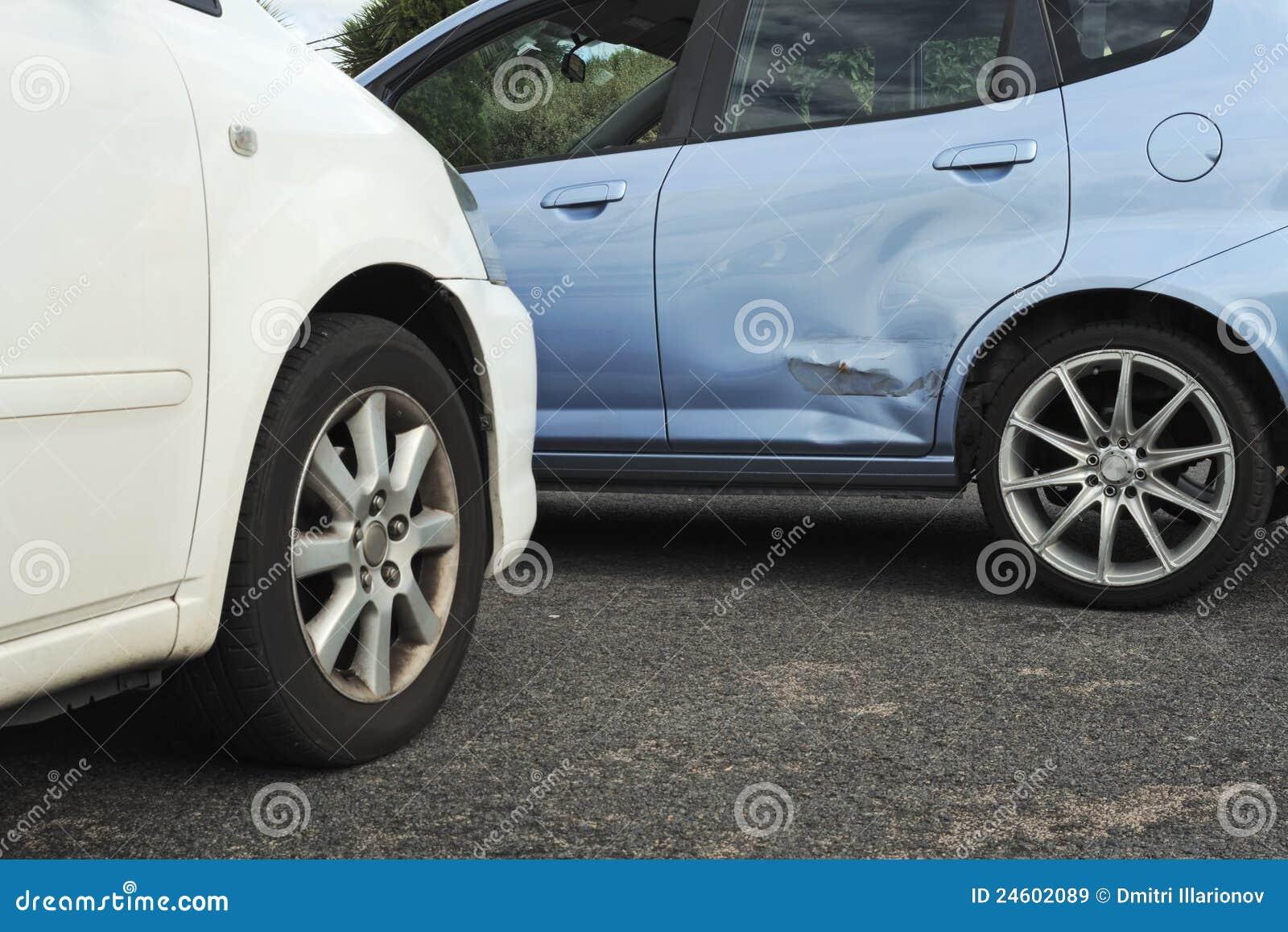 Samochodu wypadkowy światło