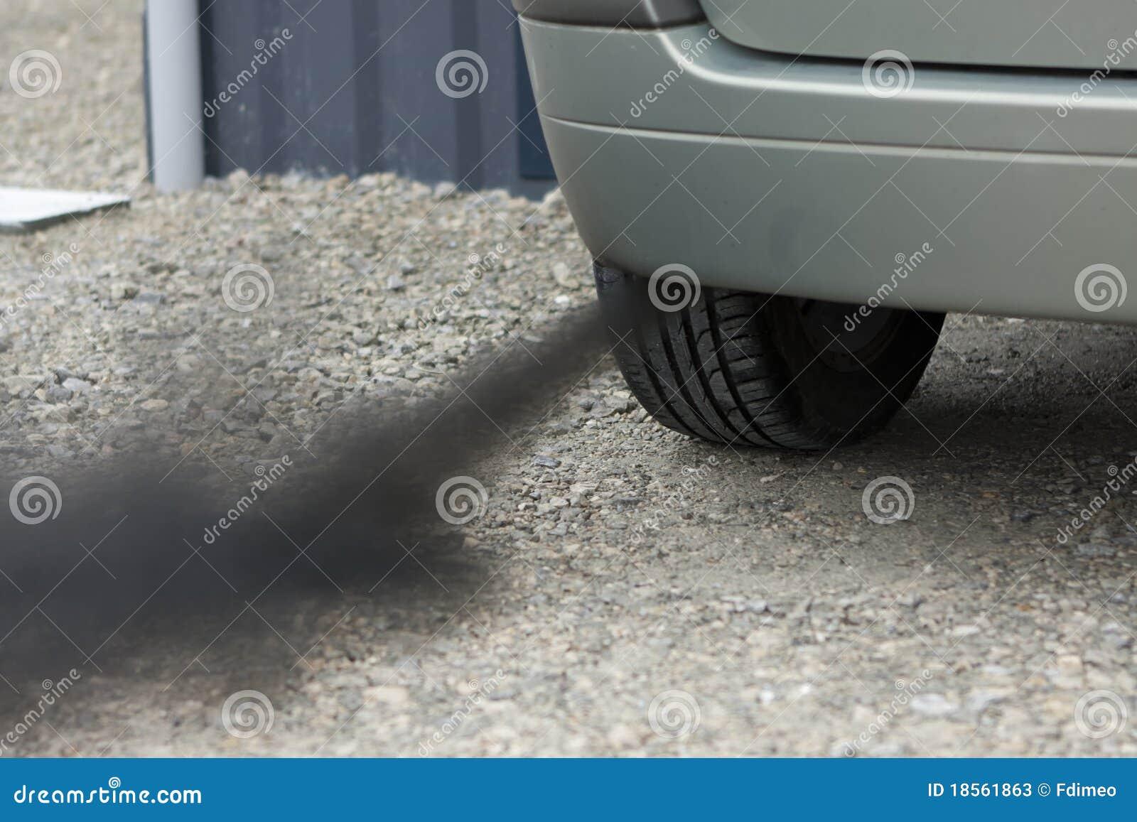 Samochodu zanieczyszczenie