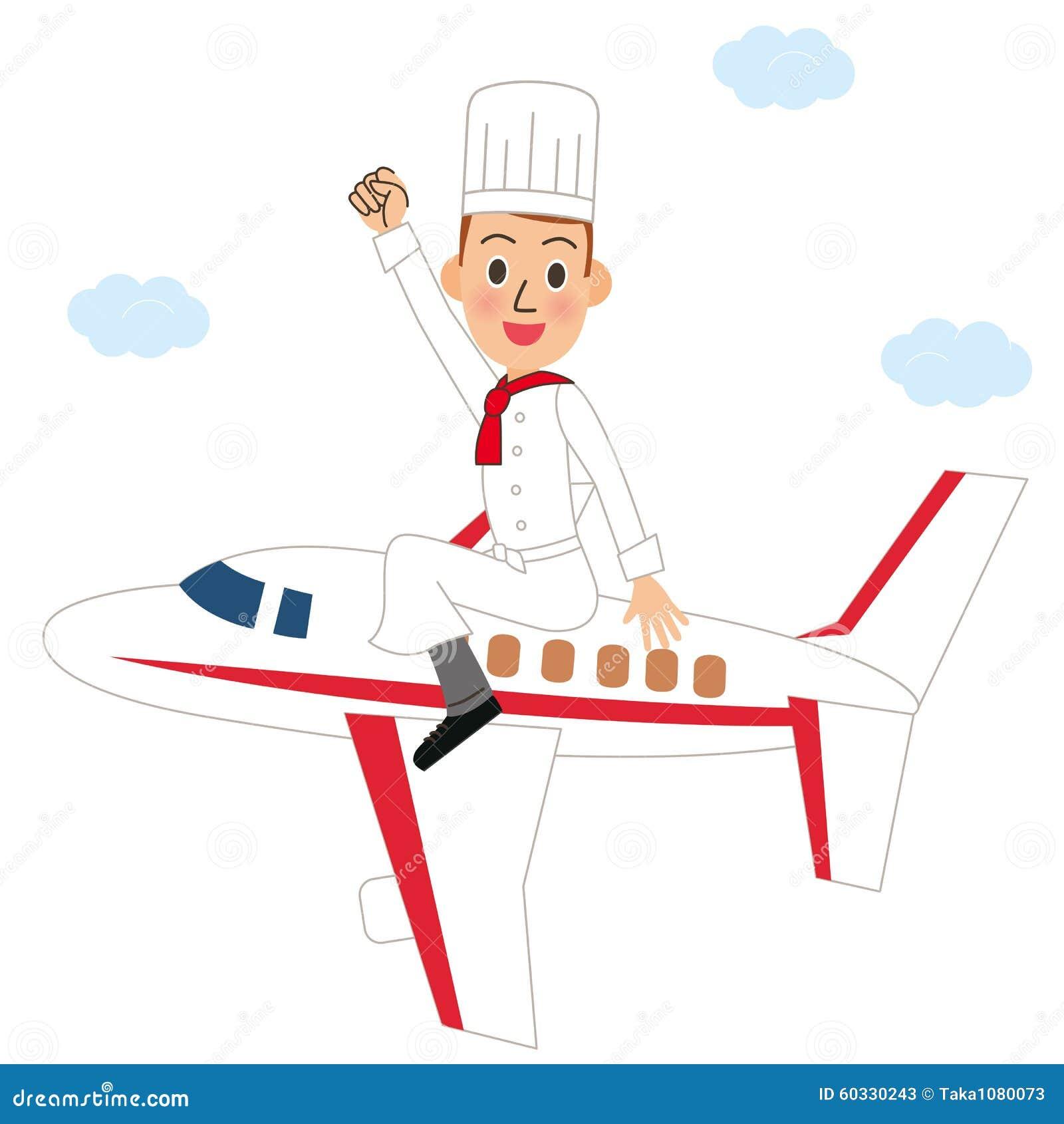 Samolot i kucharz
