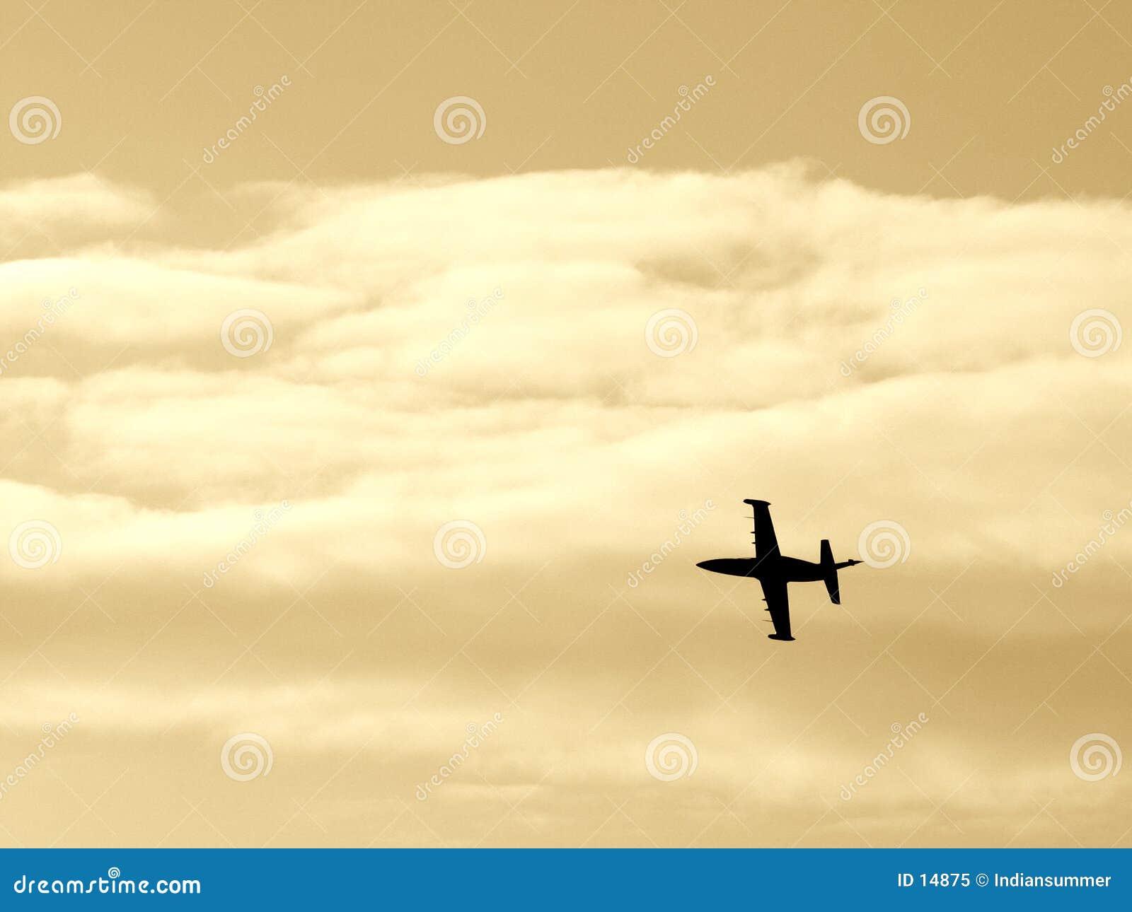 Samolot iv wojownika.