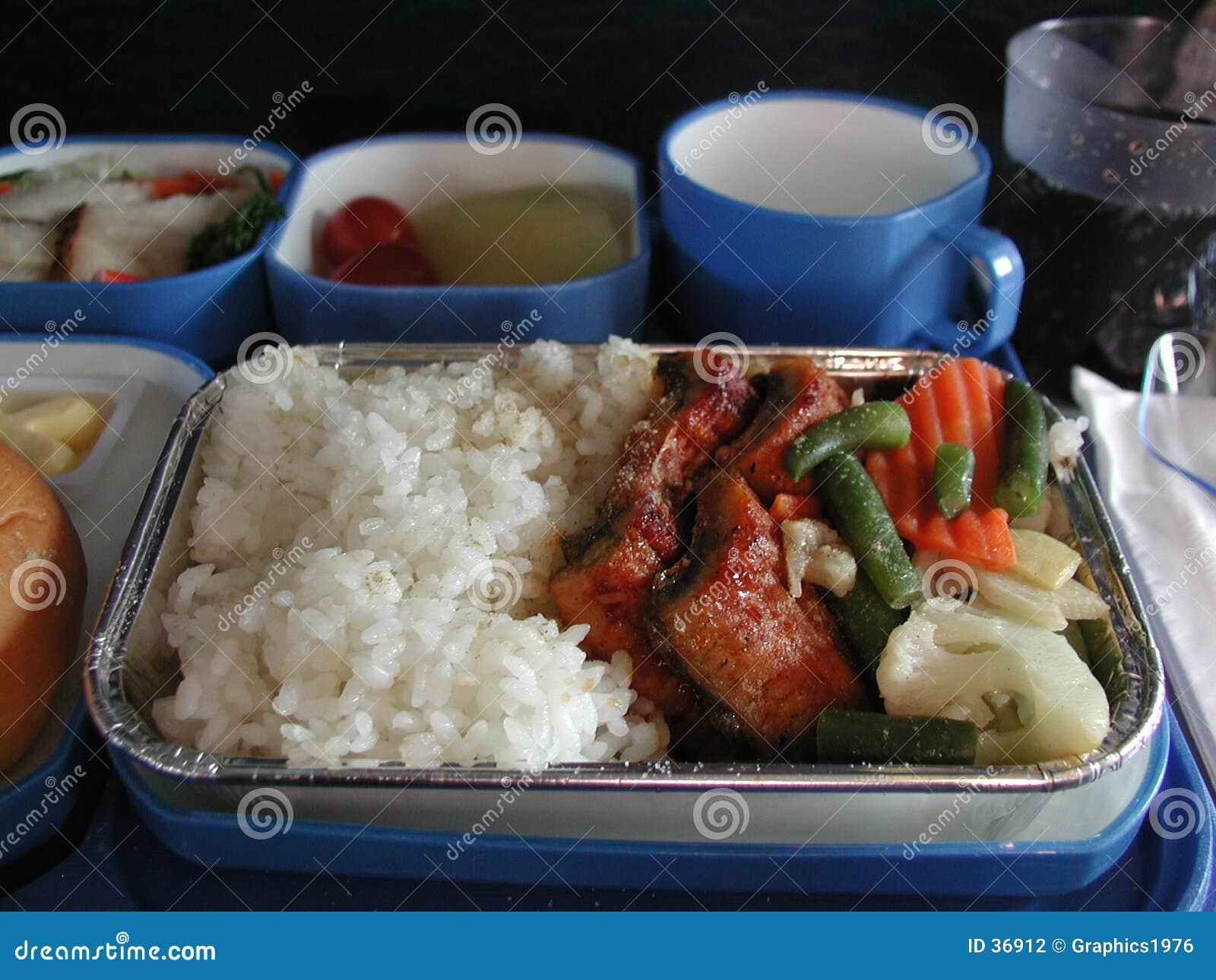 Samolot jedzenie.