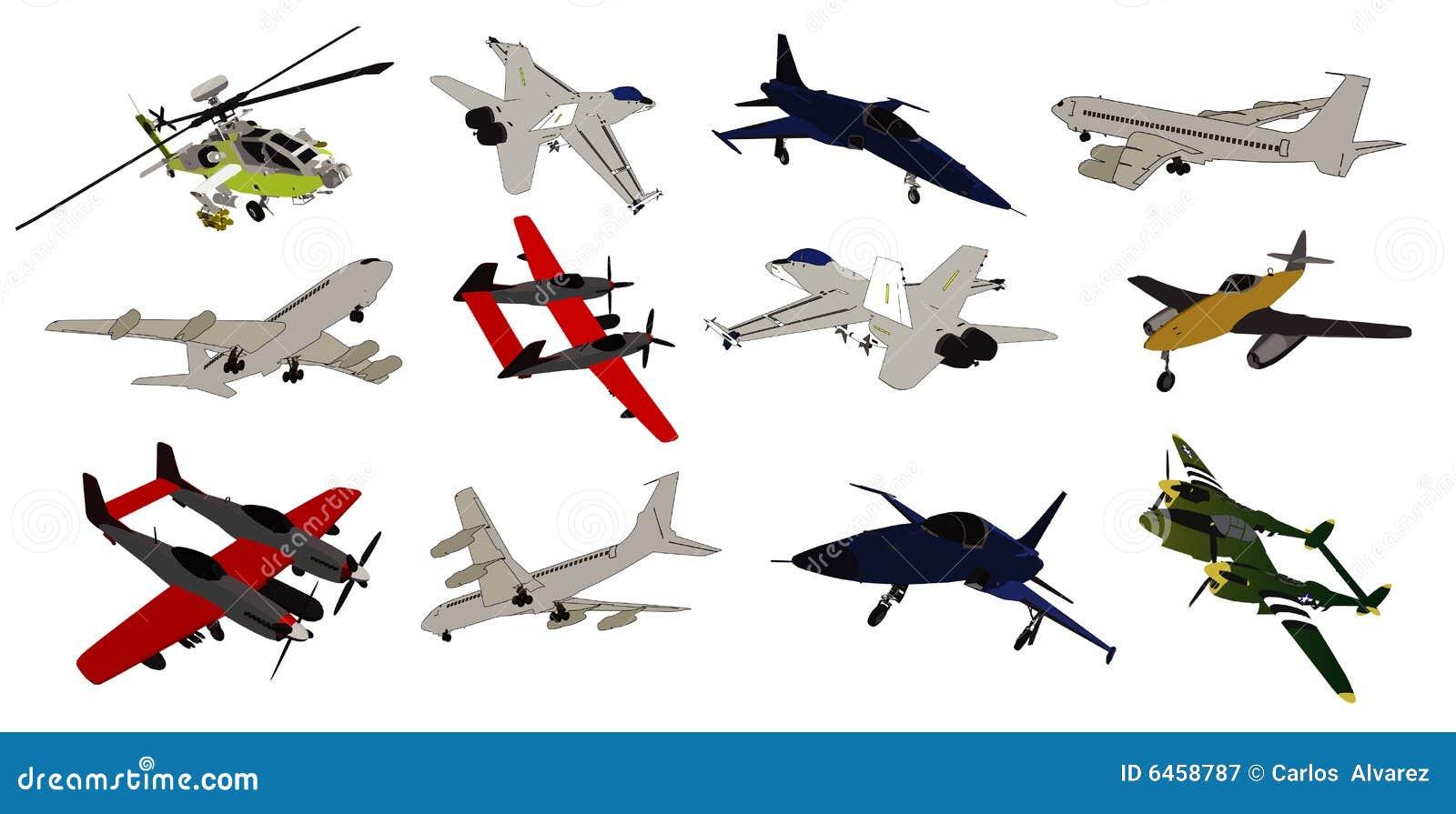 Samolot składu wektora