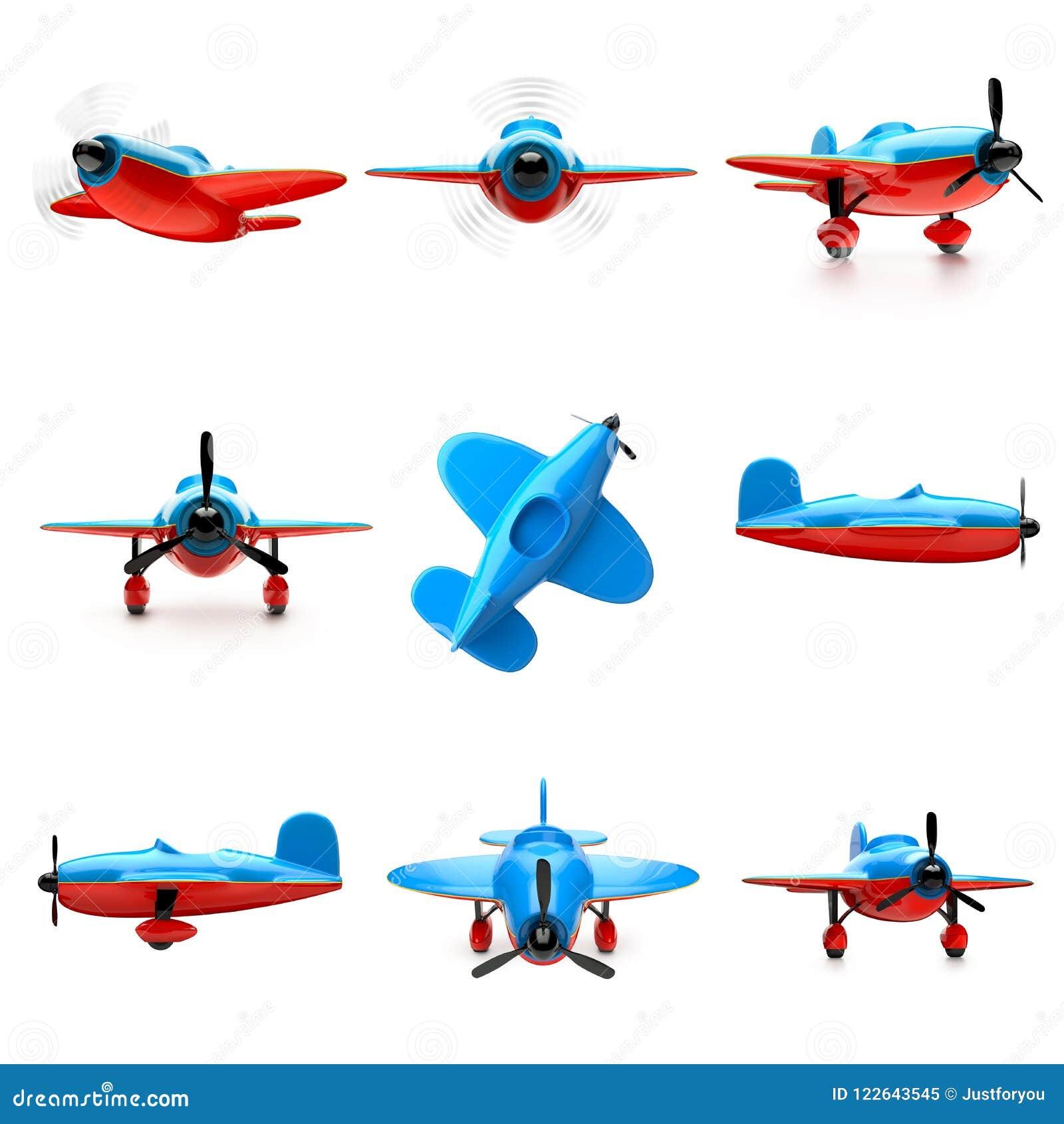 Samolot ustawiający odizolowywającym na białym tle