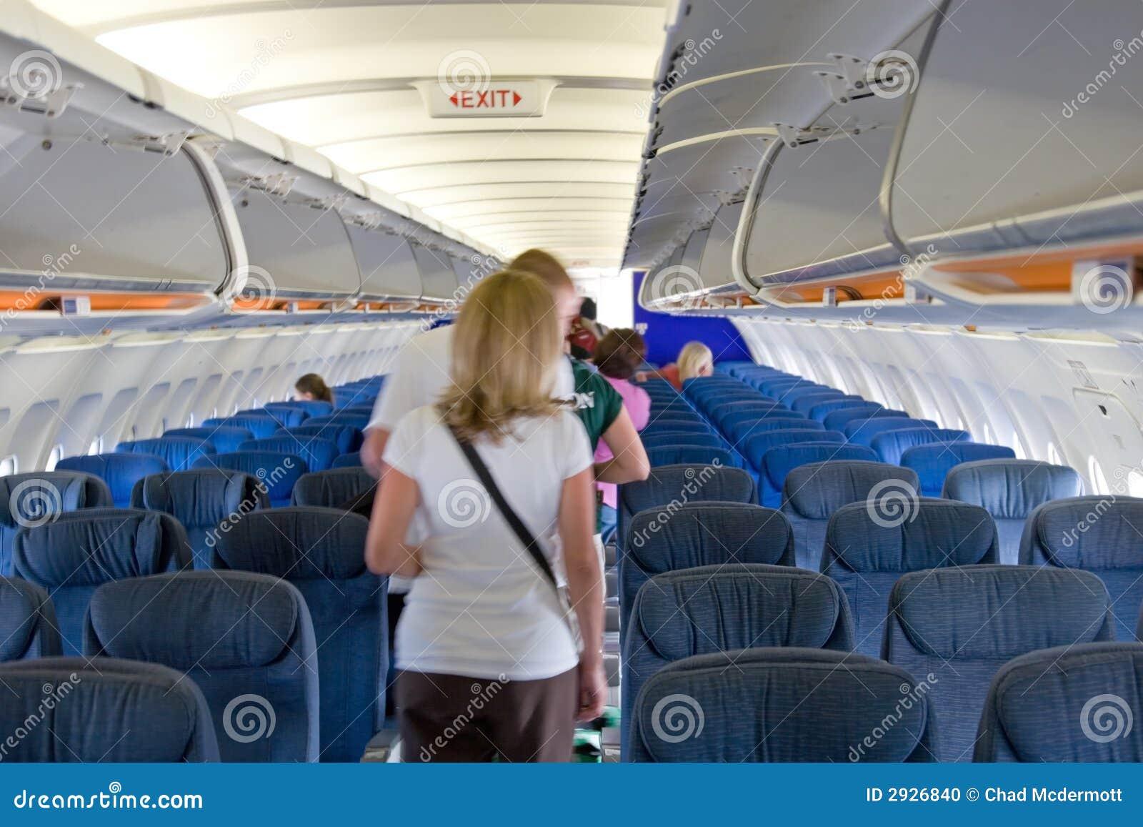 Samolot wn trze zdj cie stock obraz 2926840 for Avion jetairfly interieur