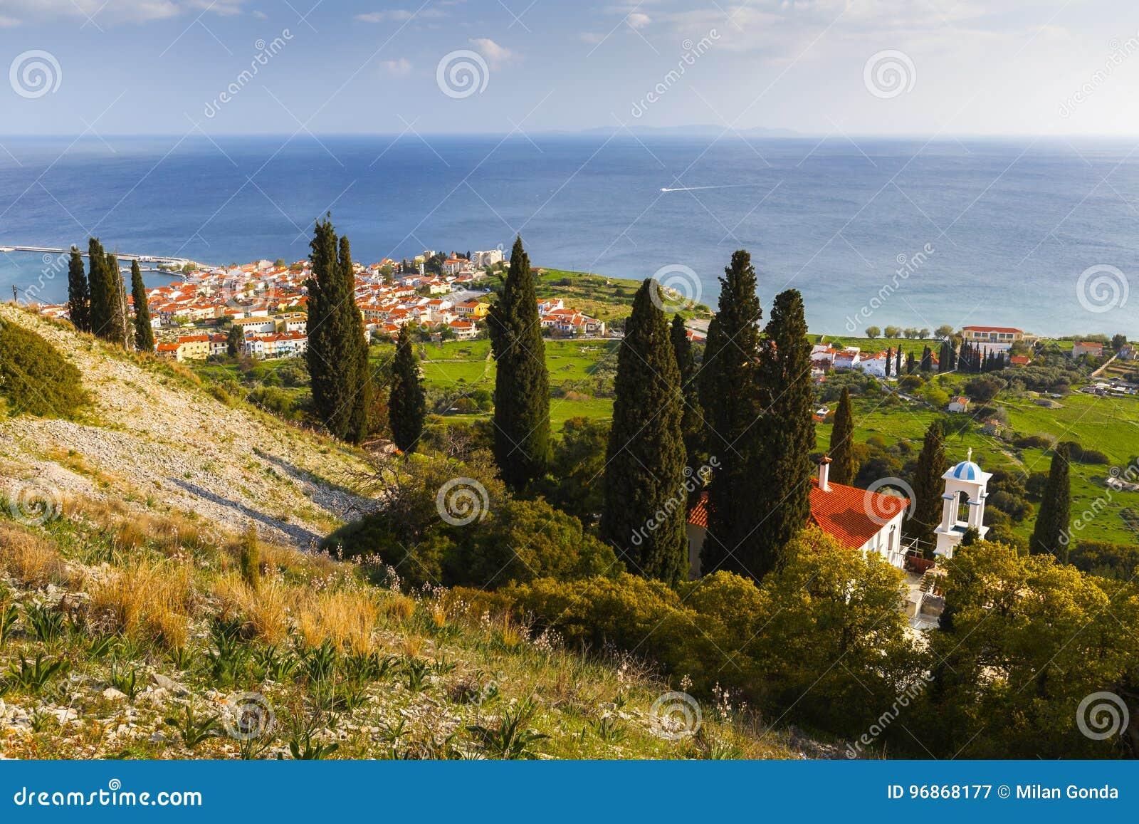 Samos island.