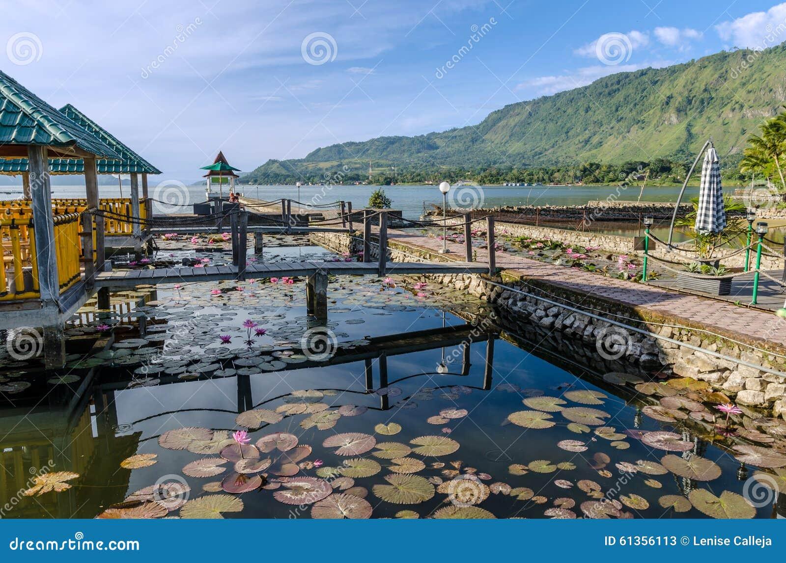 Samosir Island In Lake Toba, Sumatra Indonesia Stock Image - Image