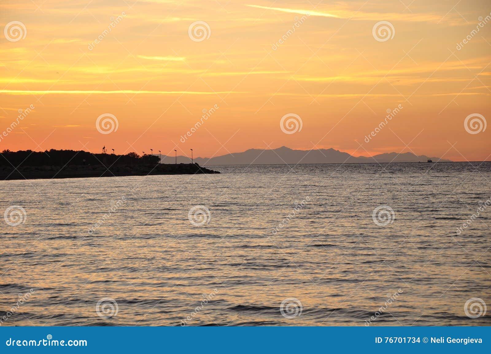 Samothrace ö, Grekland