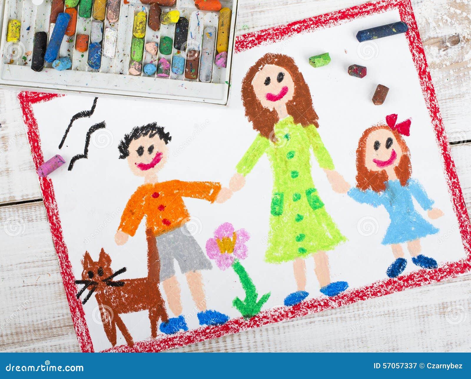 Samotna matka i dzieciaki