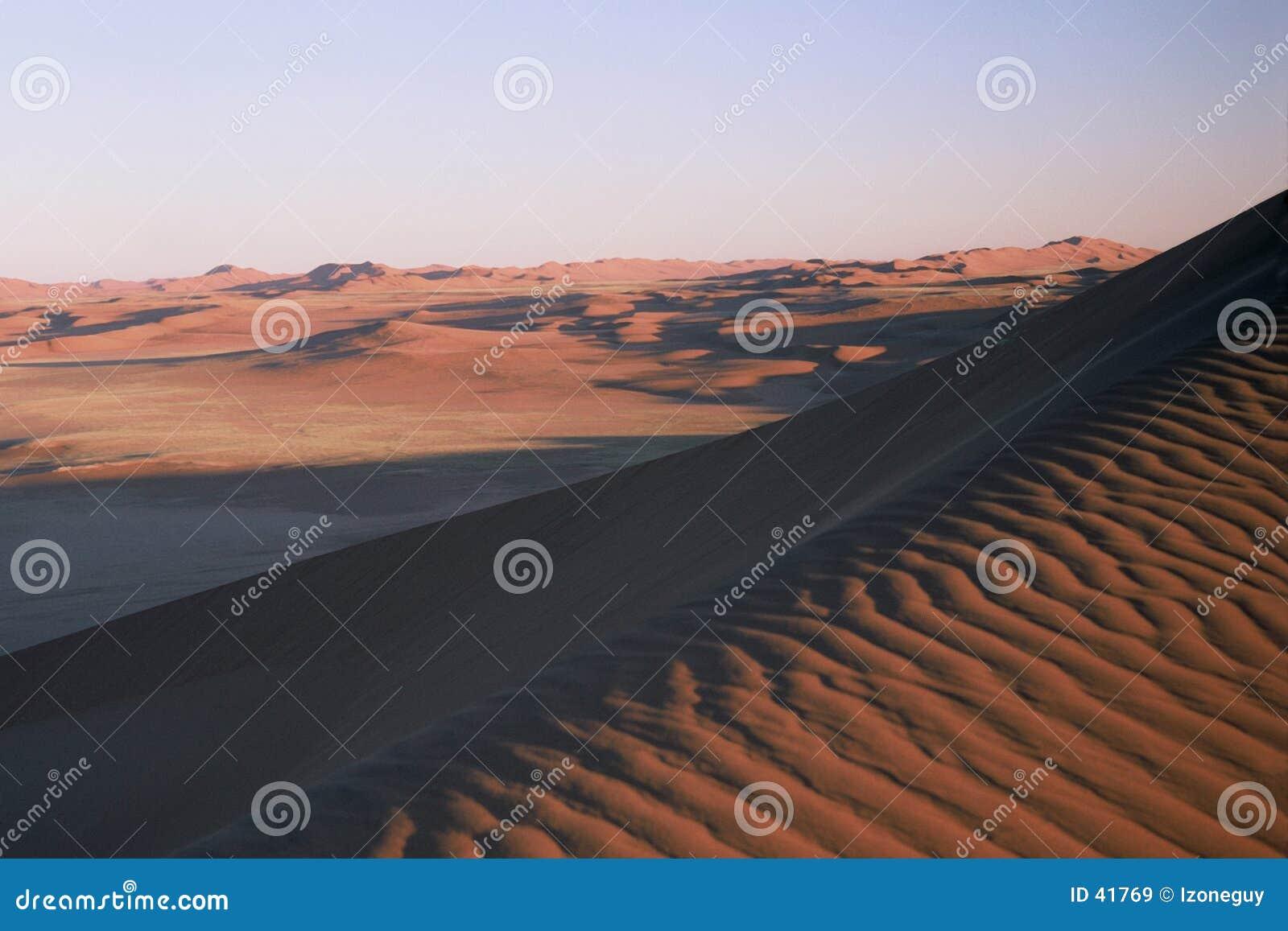 Samotnie pustynię