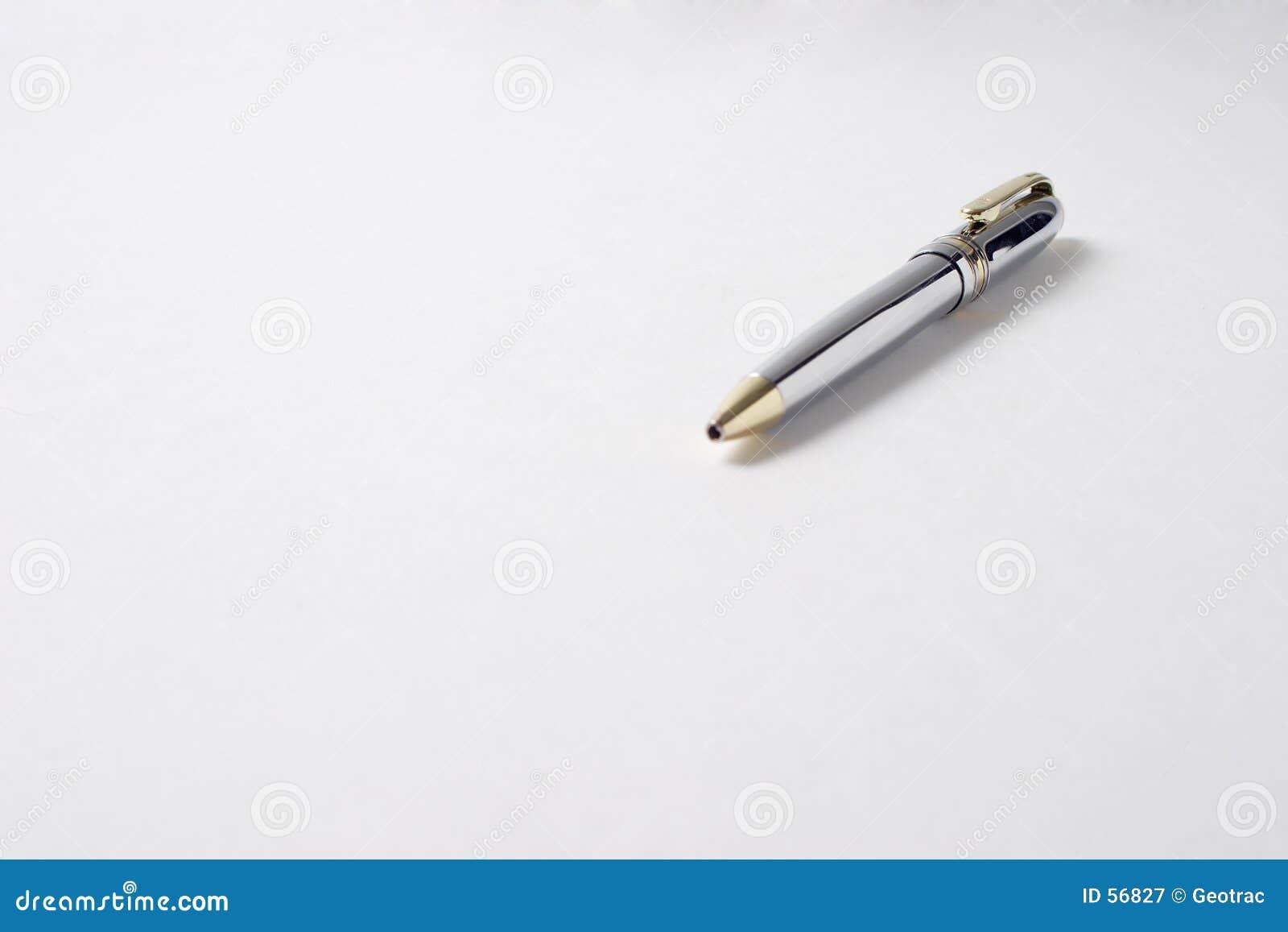 Samotny długopis