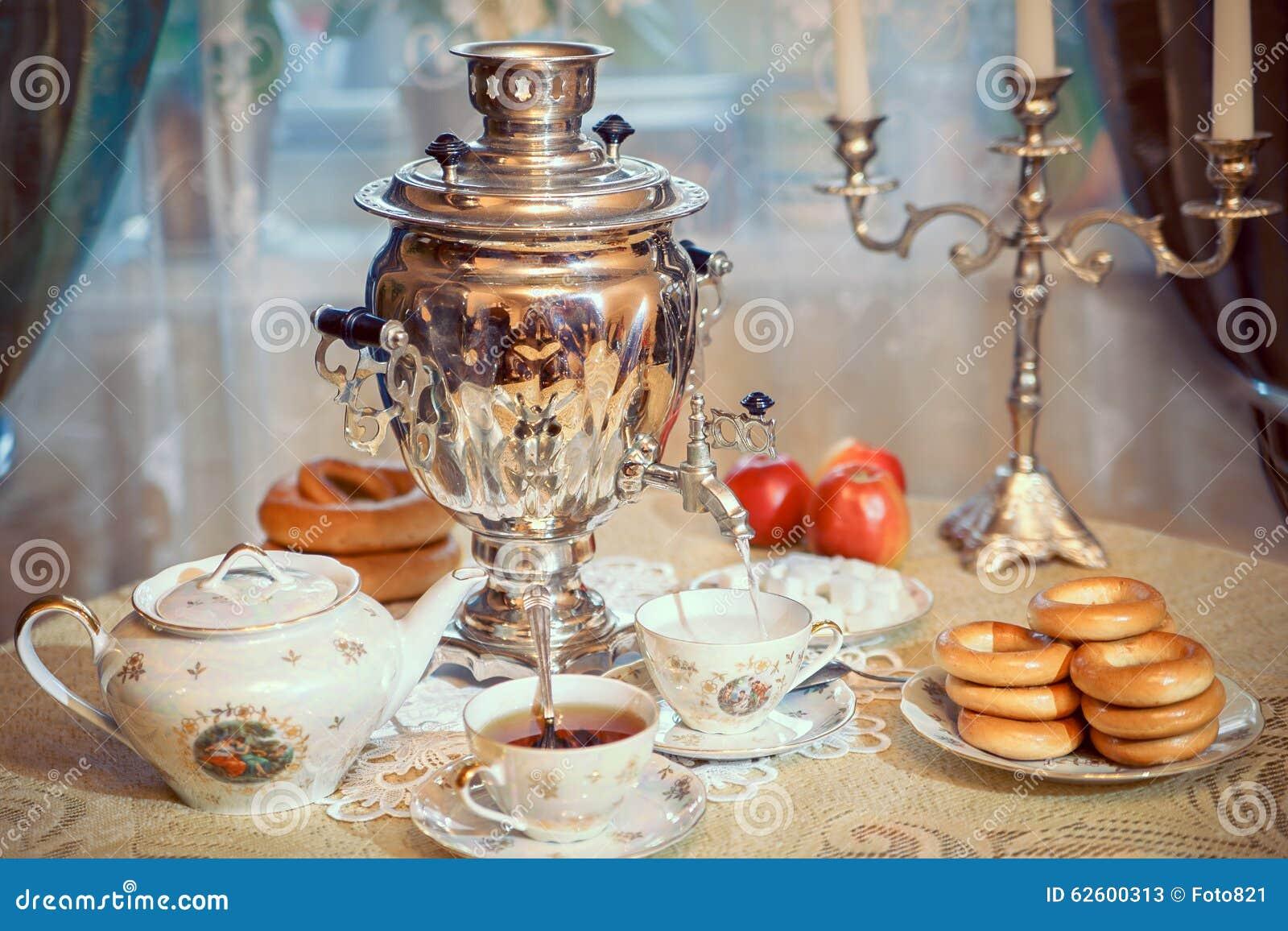 Samovar e chá