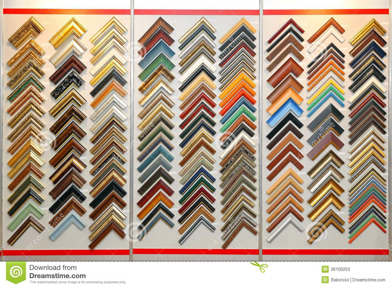 Sample Frame Corners Stock Image Image Of Design