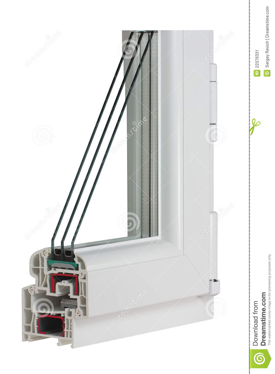 Sample pvc window stock image image of home installation for Window samples for houses