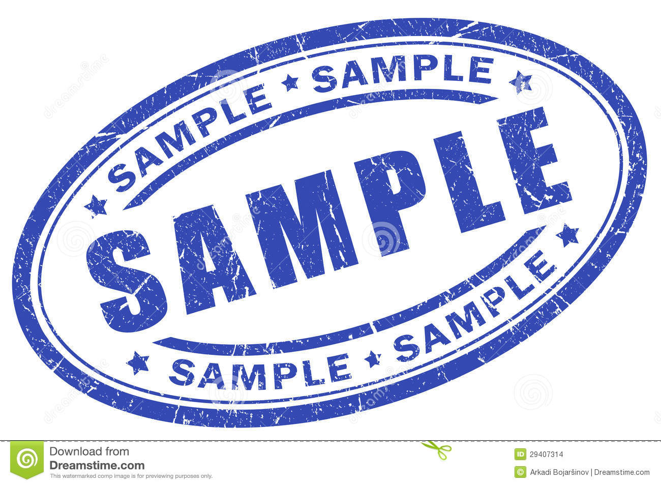 Sample Stamp Stock Images