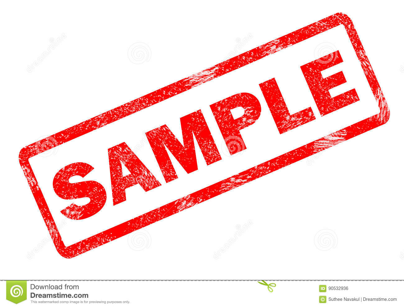 sample stamp on white background stock illustration illustration