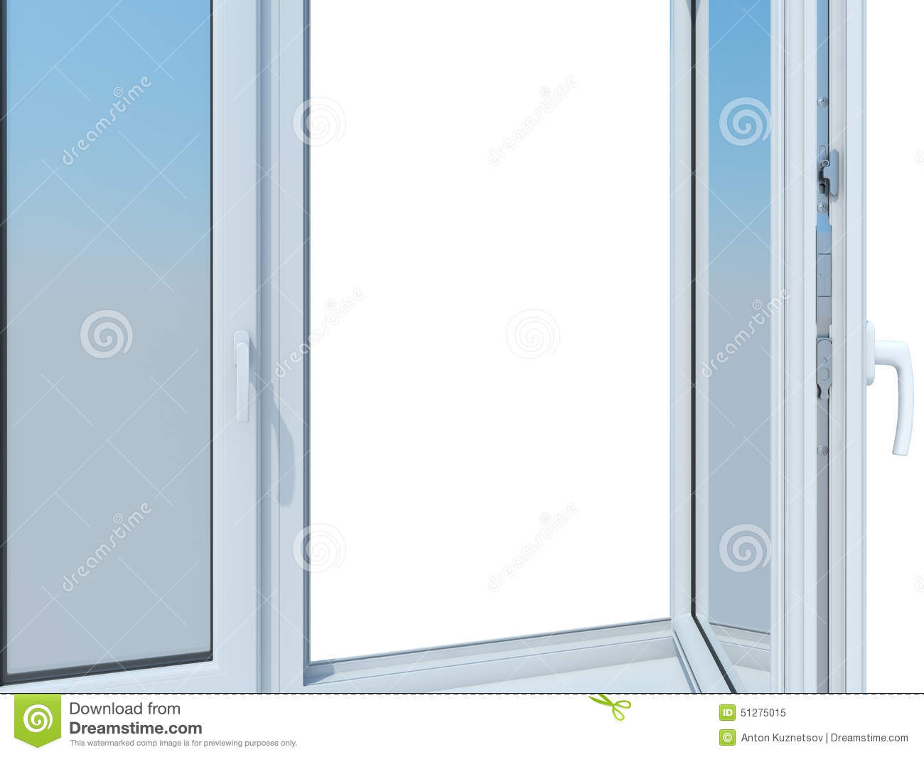 The sample window stock illustration image of home room for Window samples for houses