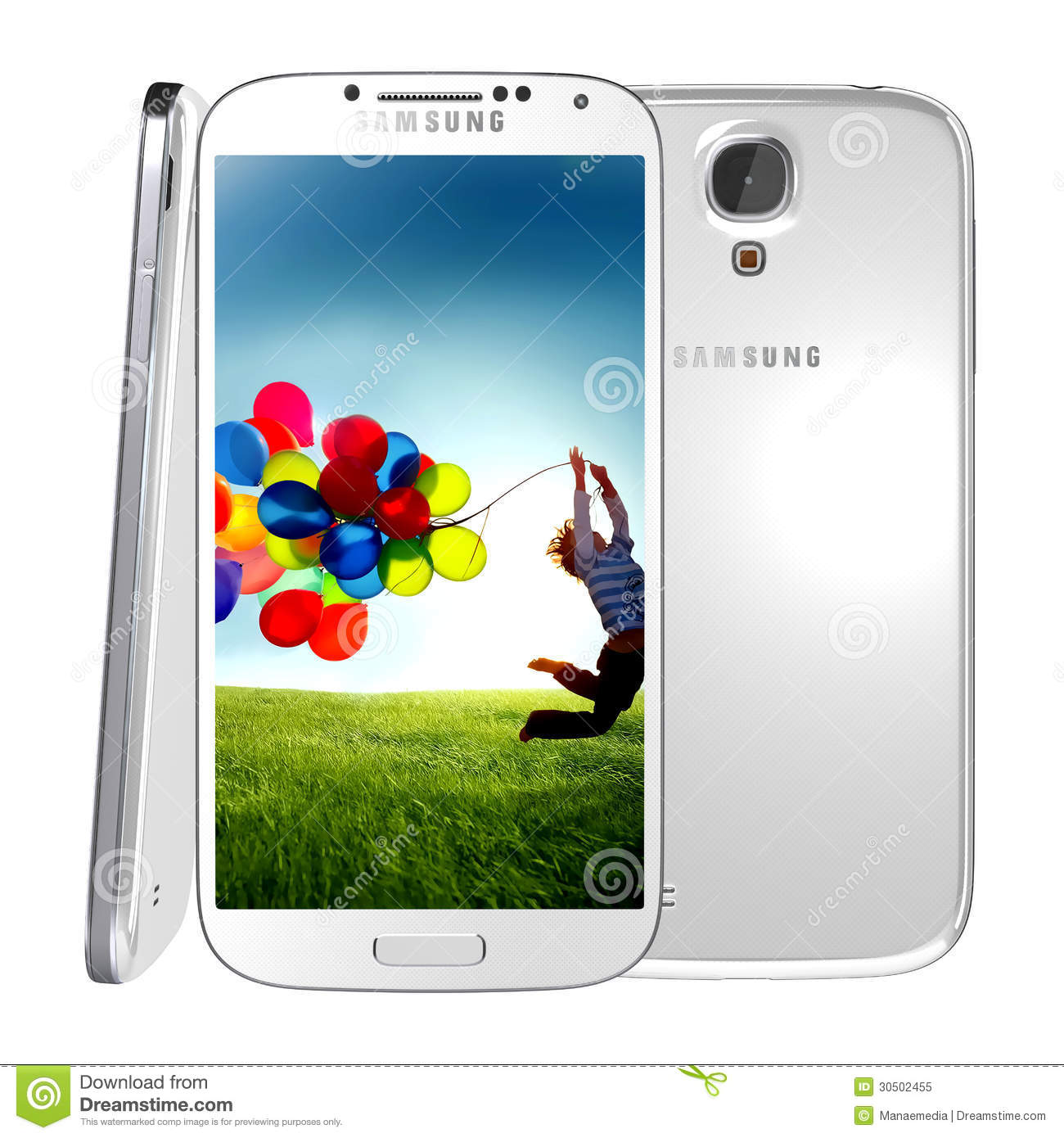Samsung Galaxy S4 editorial image  Image of message, editorial