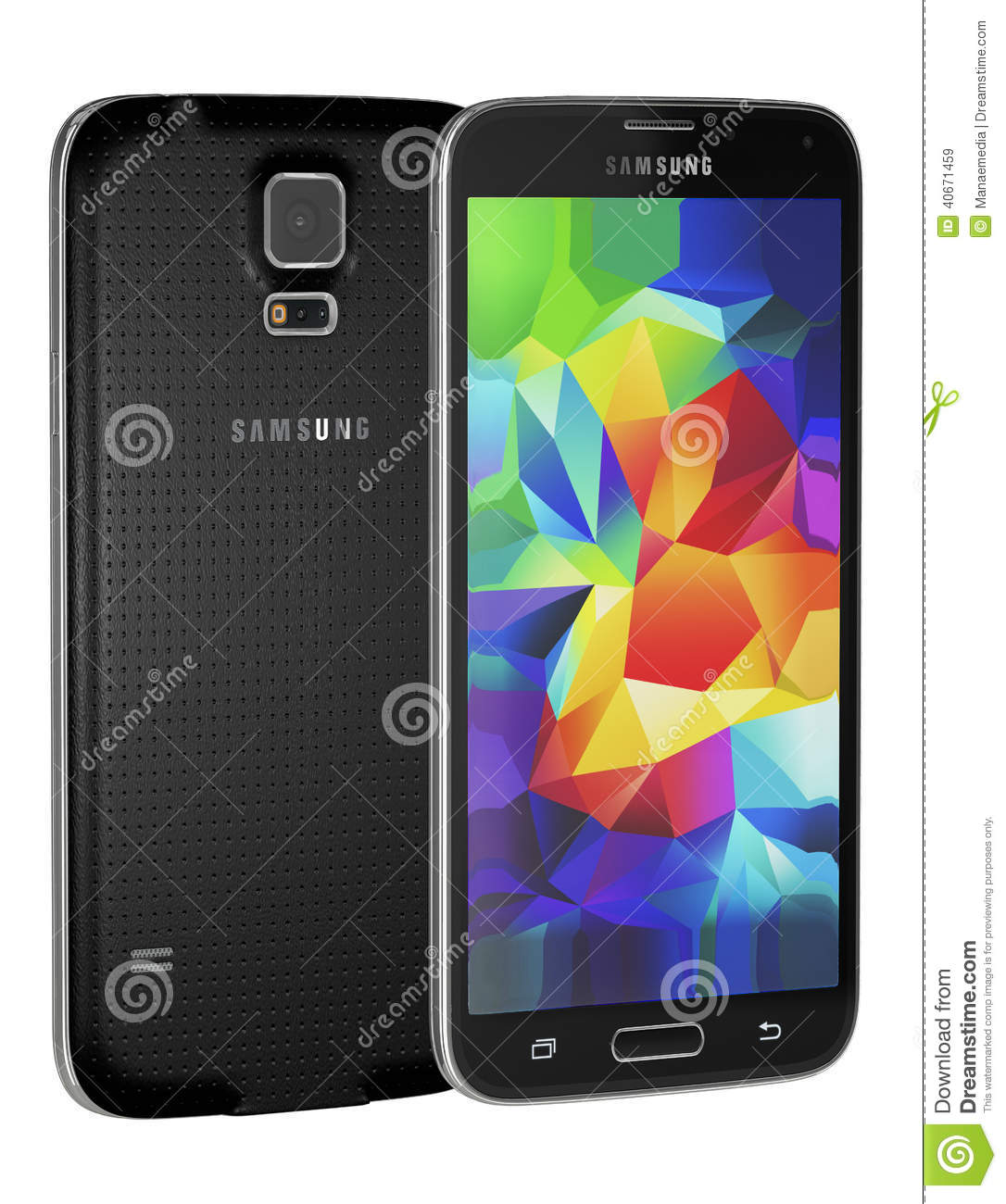 Samsung Galaxy S5 editorial stock image  Image of people - 40671459