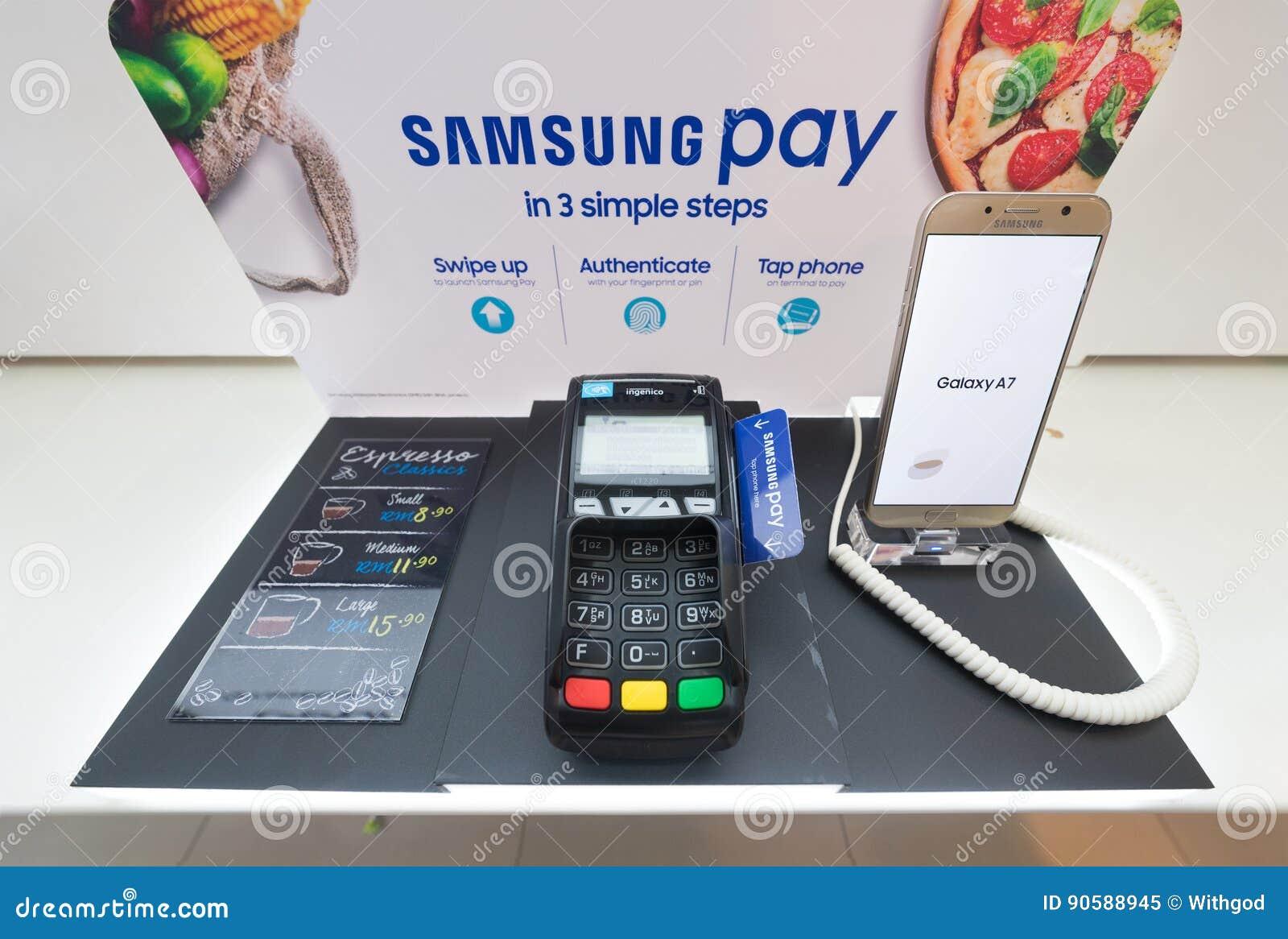 Samsung Pay In Low Yat Plaza, Kuala Lumpur Editorial Image ...