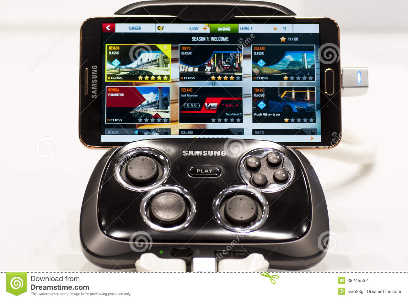 Samsung galaxy note 3 mobile world congress 2014 for Console mobile