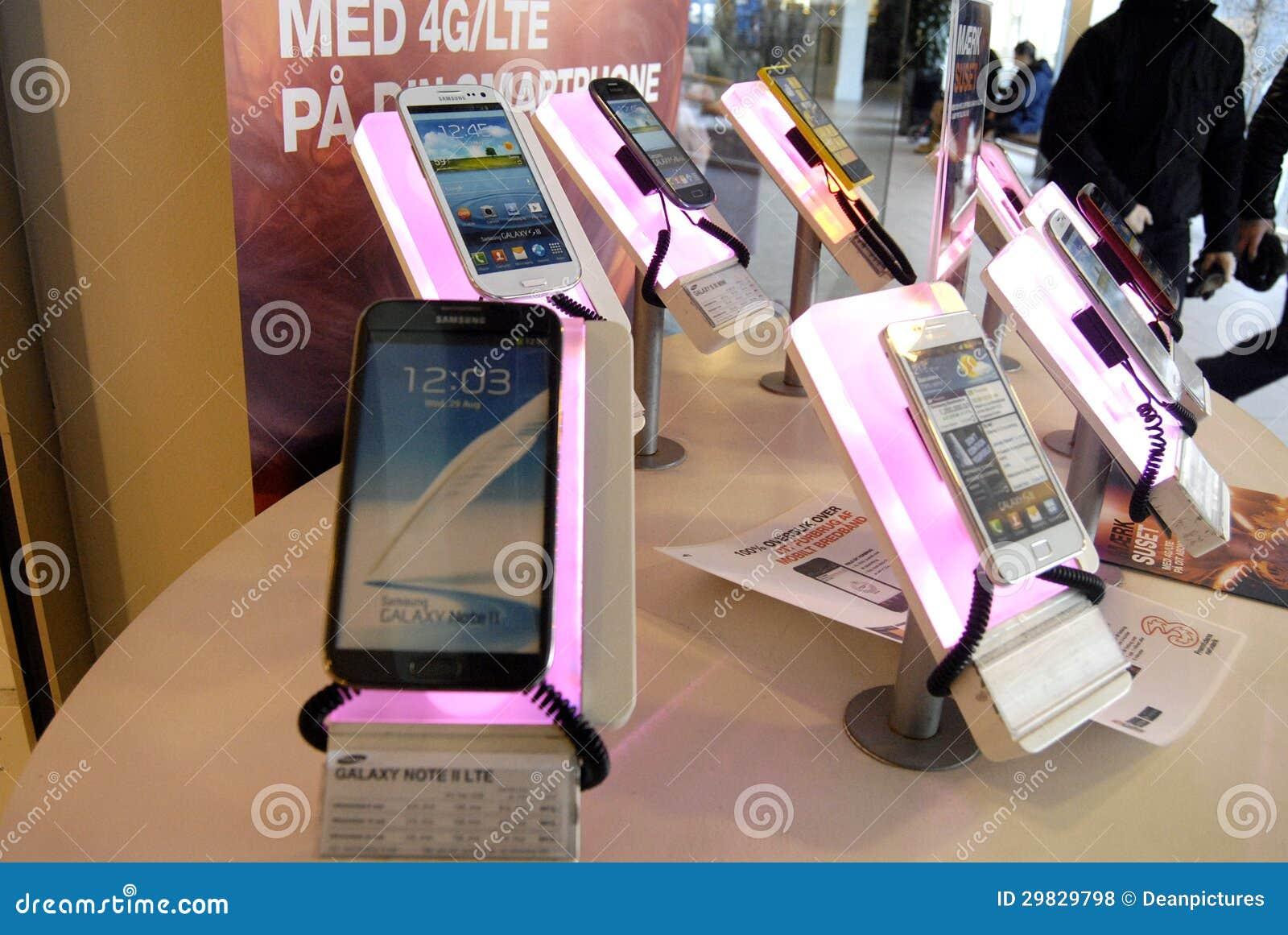 Samsung smartpones